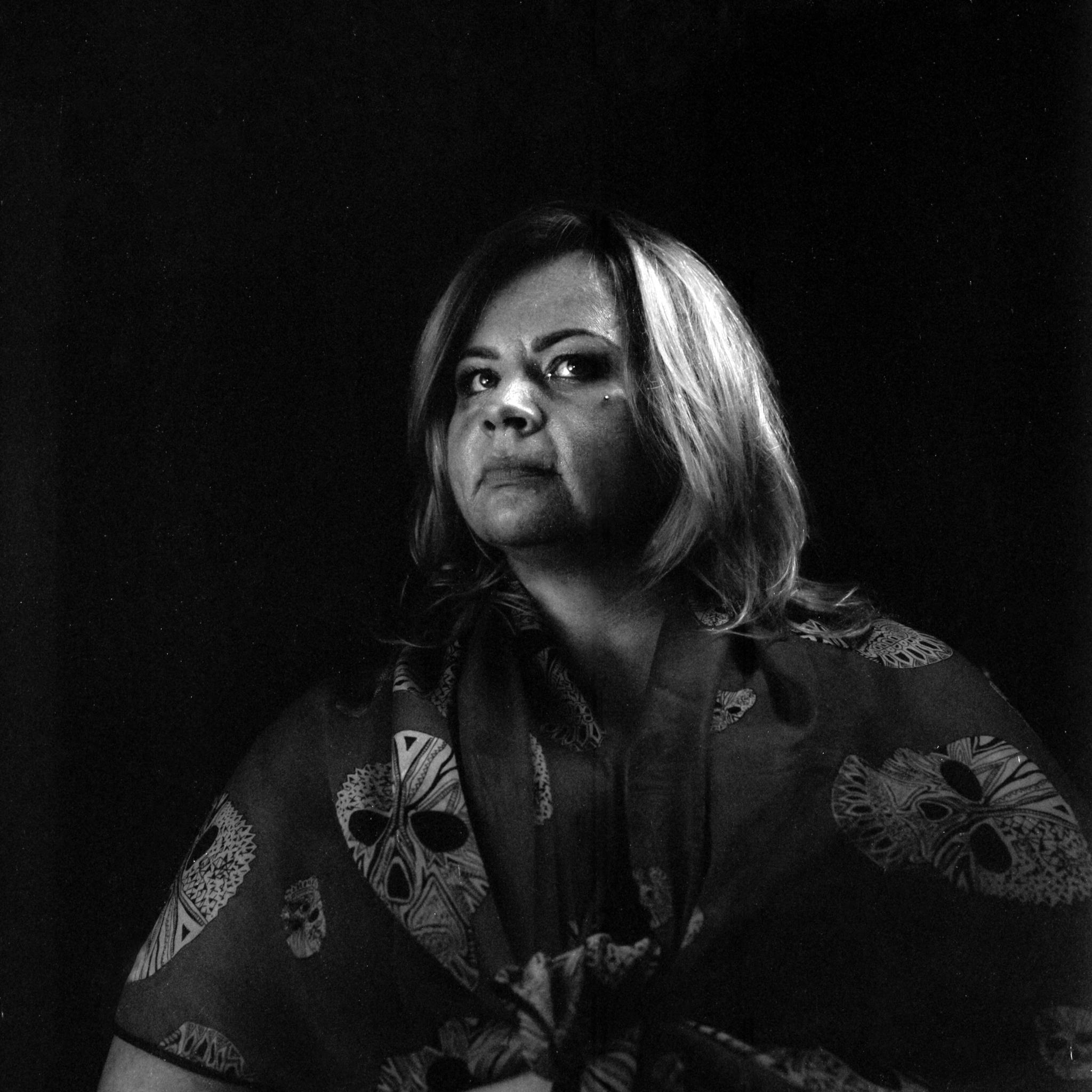 Black and white portrait (Pic: Iain Compton)