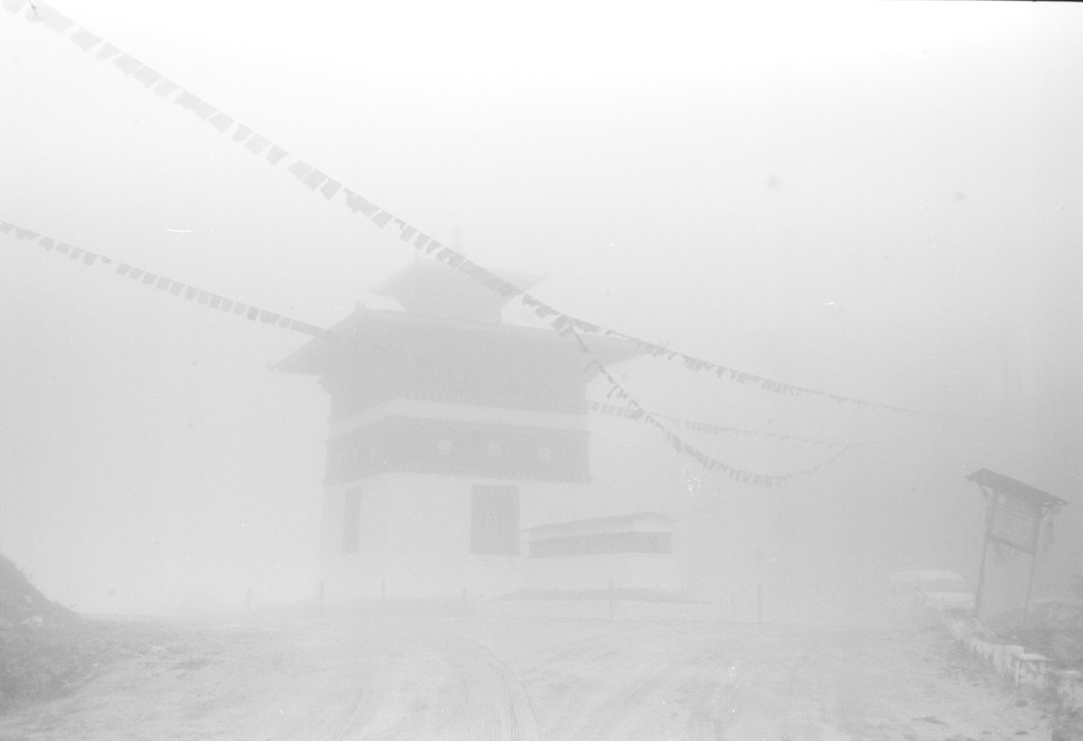 Temple seen in mist (Pic: Lester Ledesma)