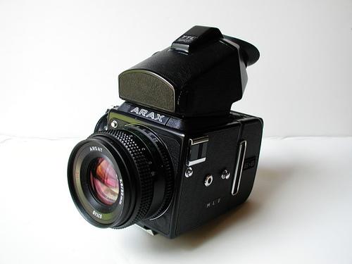 Kiev-88 camera (Pic: Henricvs/Wikimedia Commons)