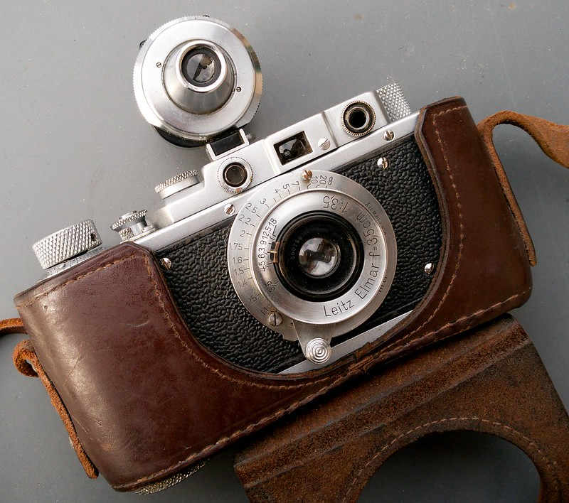 Zorki with Leica lens attached (Pic: Paulo Moreira)