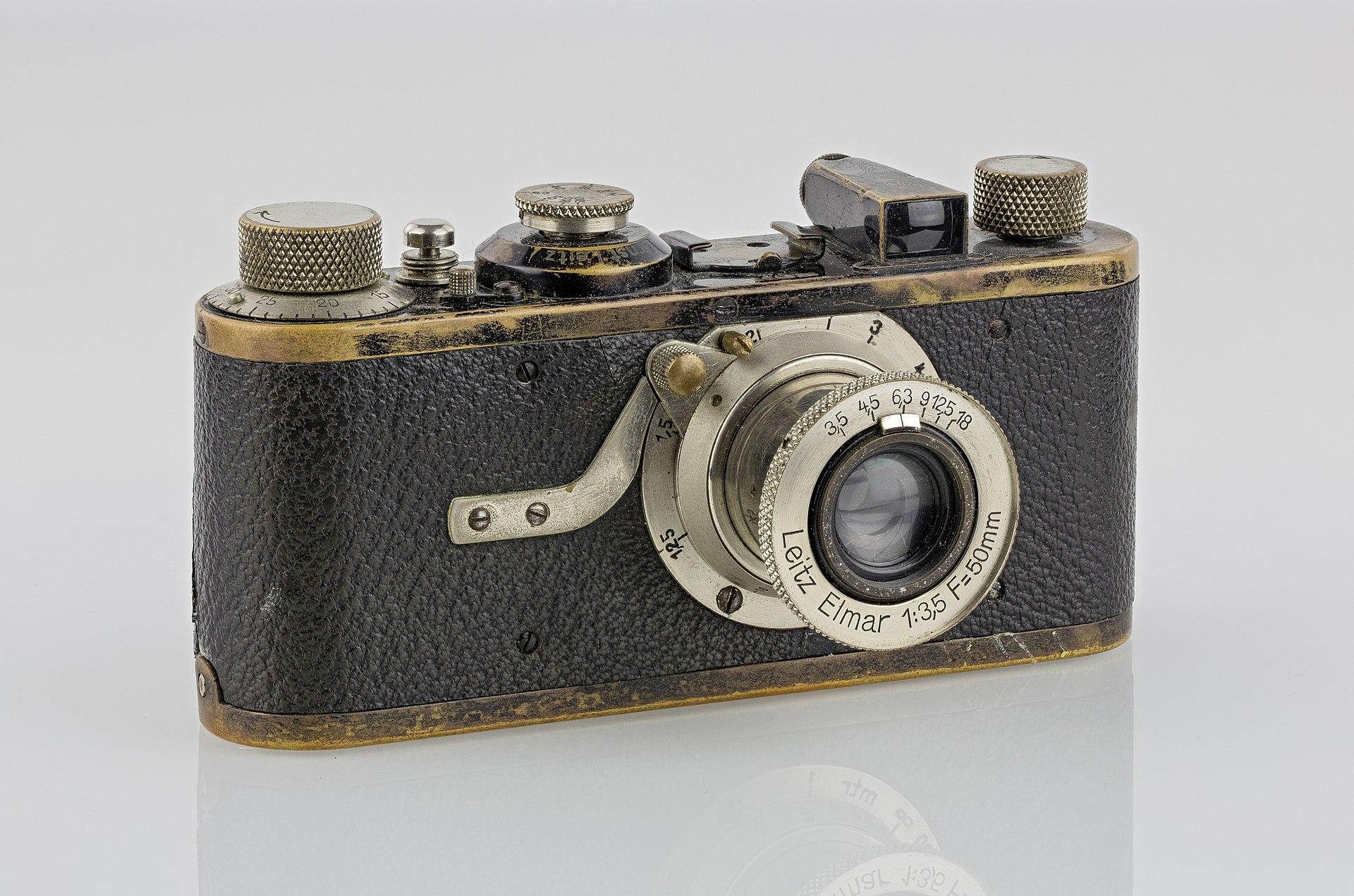 Leica camera (Pic: Kameraprojekt Graz 2015/Wikimedia Commons)