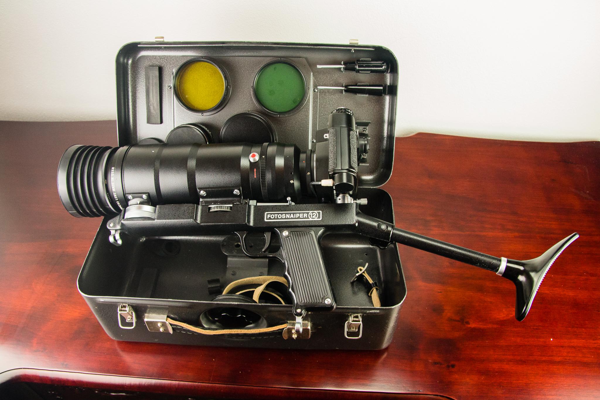 KMZ Fotosnaiper kit (Pic: Iain Compton)