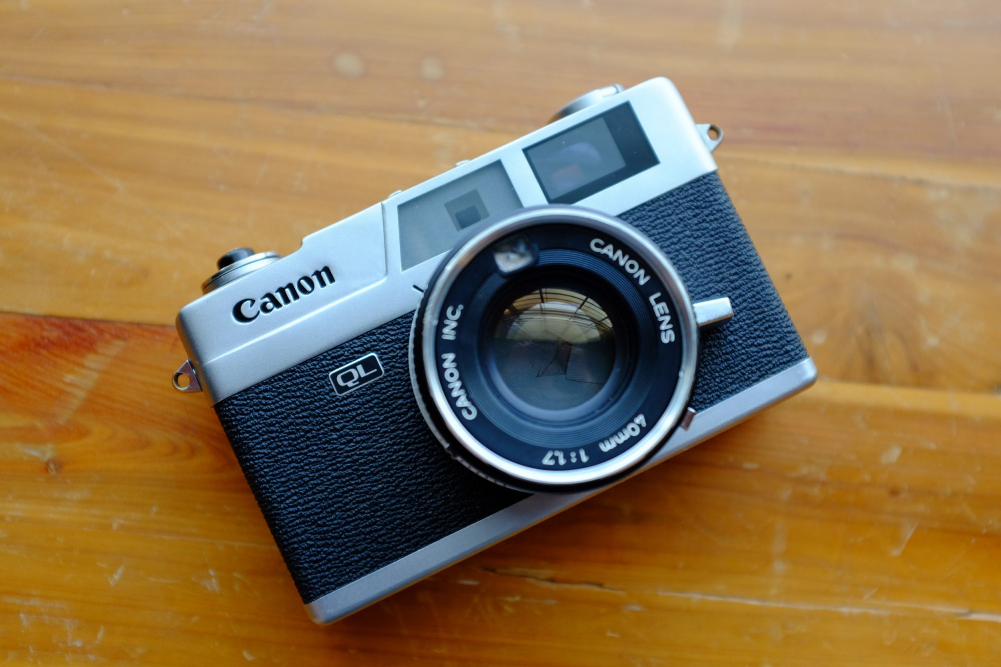 Canonet Ql 17 (Pic: Andrew Smith)