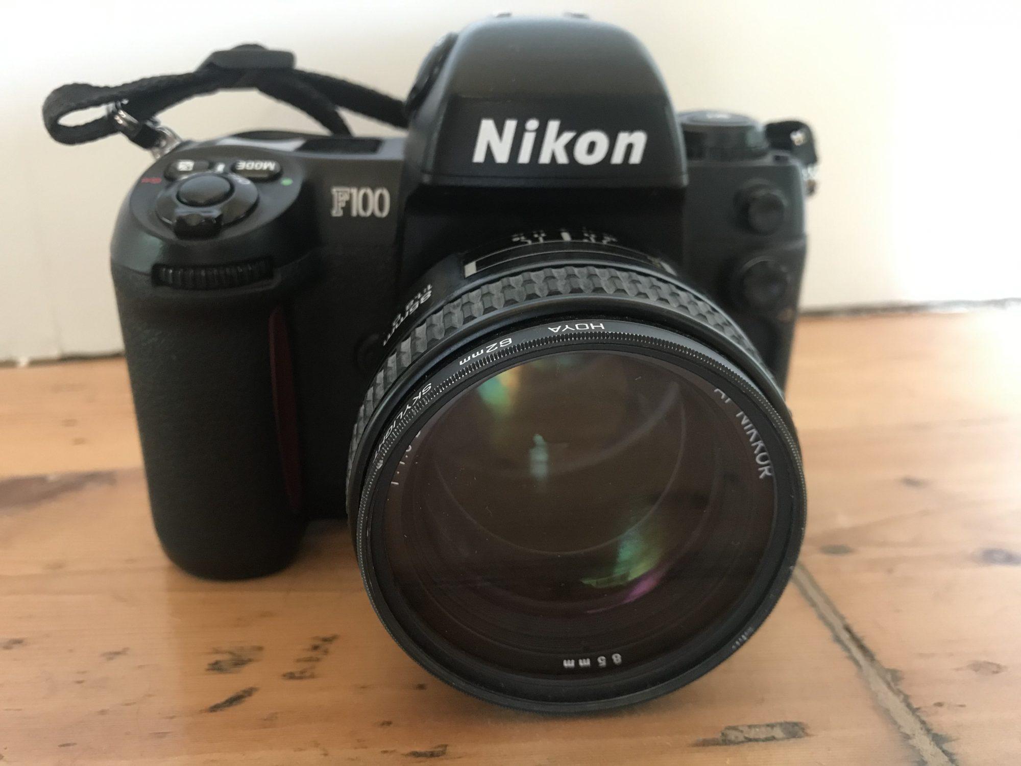 Nikon F100 (Pic: Stephen Dowling)