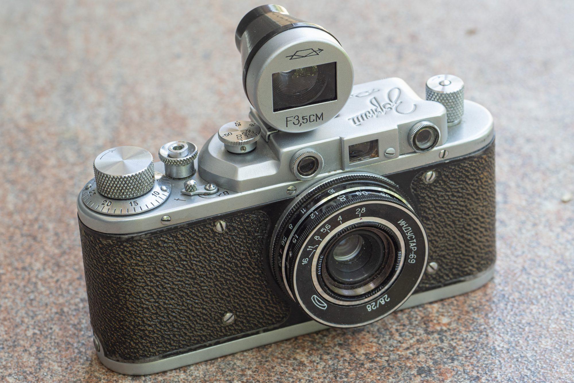 Zorki 1 with Industar-69 lens (Pic: Andrey Khludeyev)