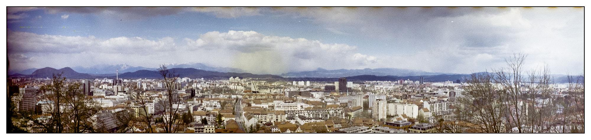 View of Ljubljana (Pic: Ziga Cetrtic)