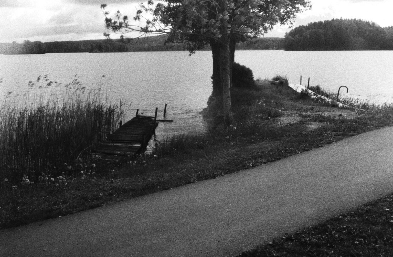 Lake and jetty (Pic: Tobias Eriksson)