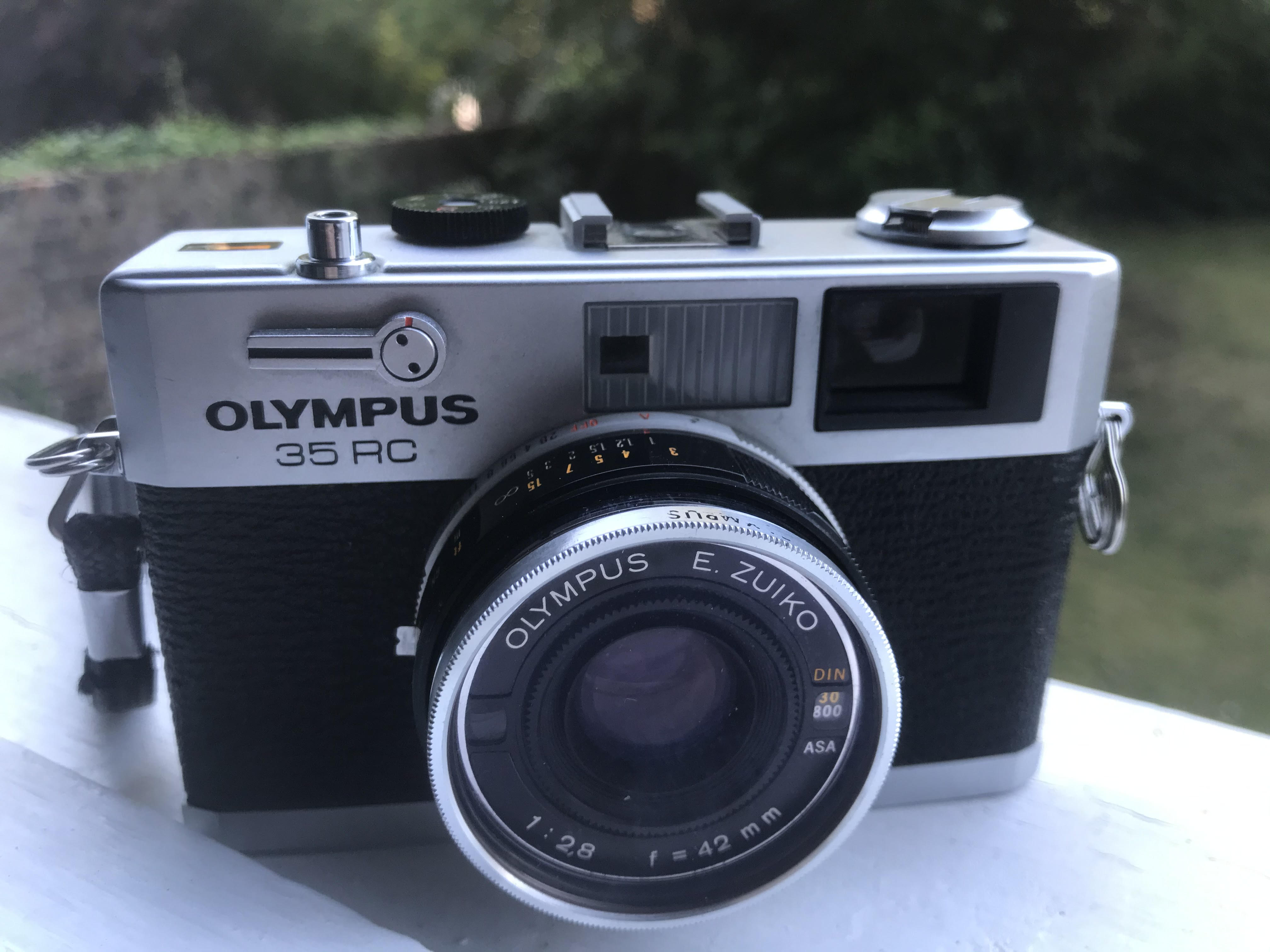 Olympus 35RC (Pic: Stephen Dowling)