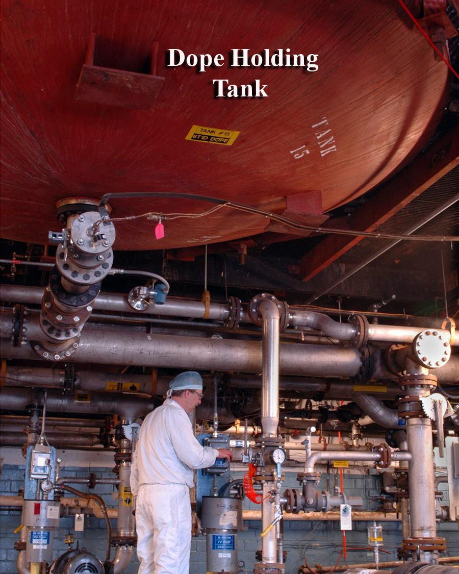 Dope holding tank (Pic: Robert Shanebrook)