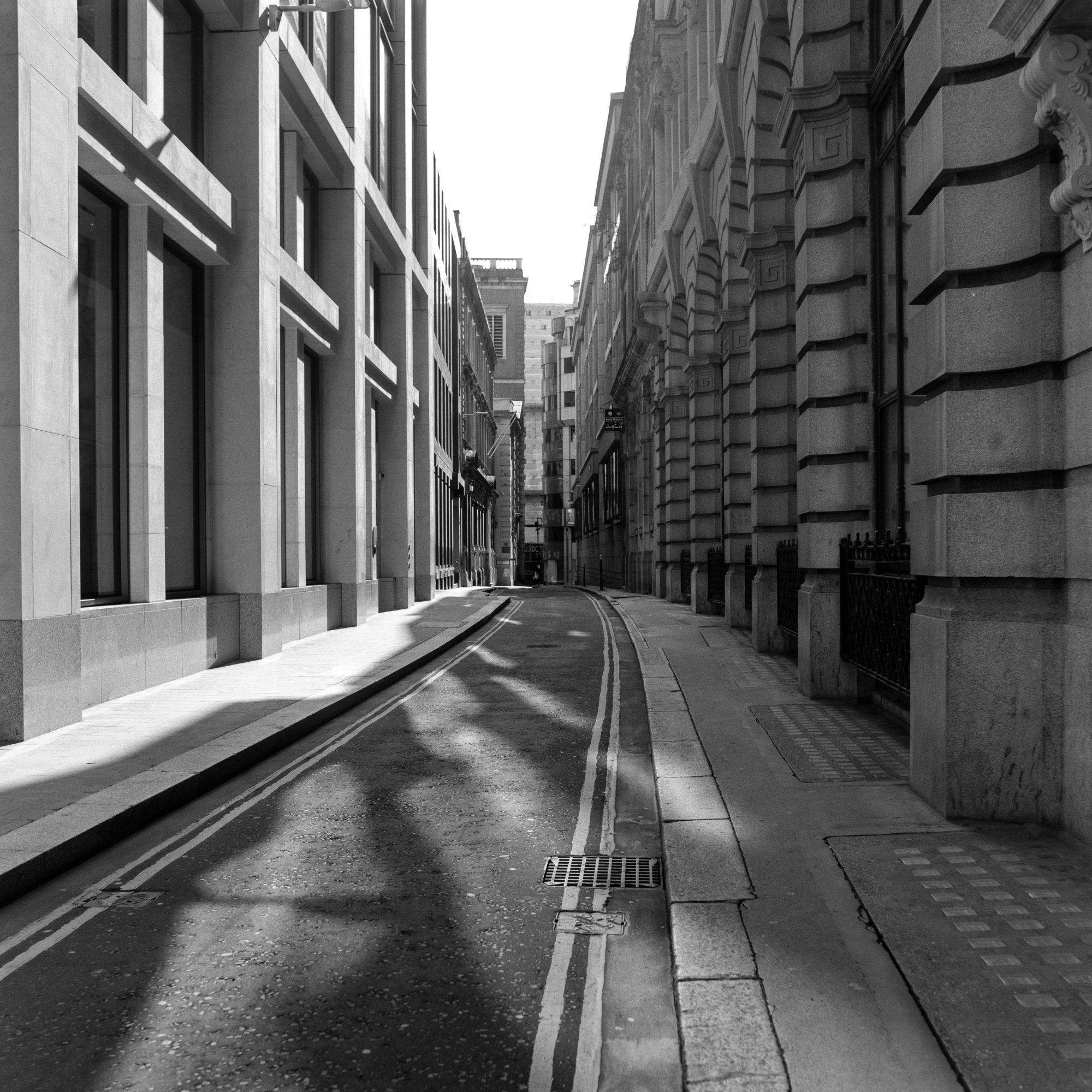 Empty City street (Pic: Giacomo Mantovani)