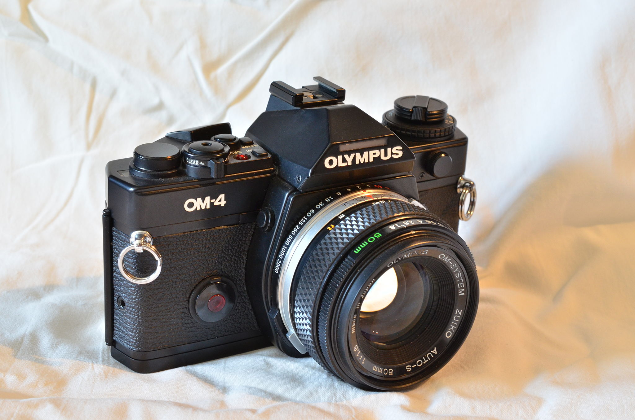 Olympus OM-4 (Pic: Daft Racer/Wikimedia Commons)