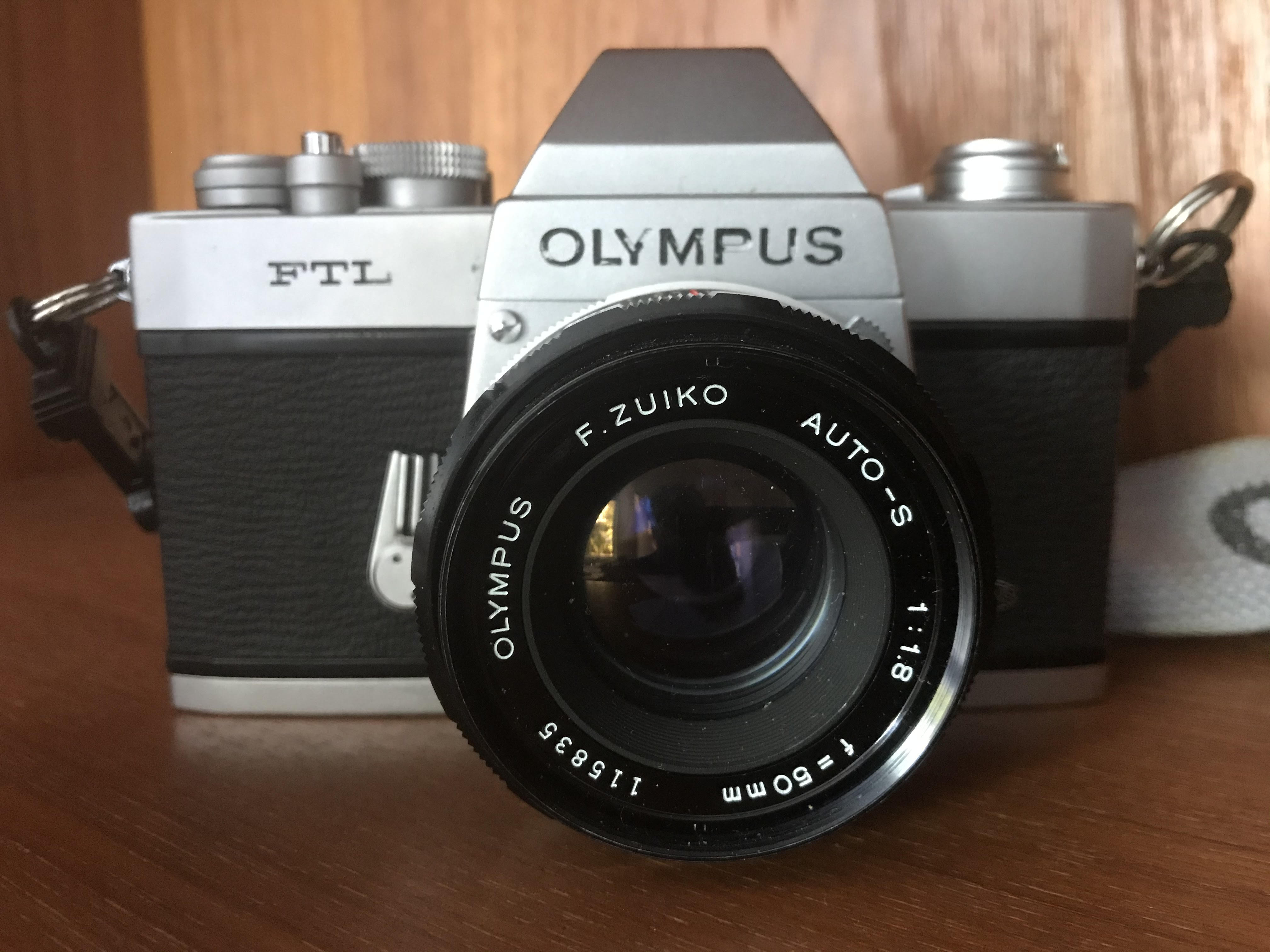 Olympus FTL (Pic: Stephen Dowling)