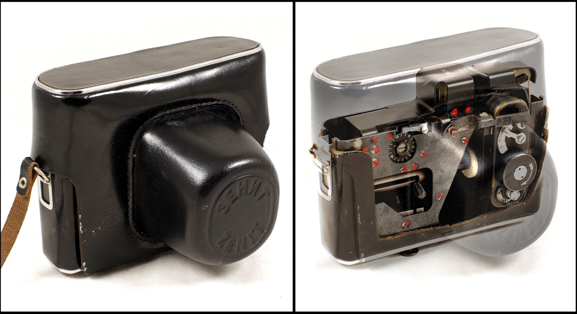 Soviet Zenit case spy camera (Pic: Aston's Auctioneers)