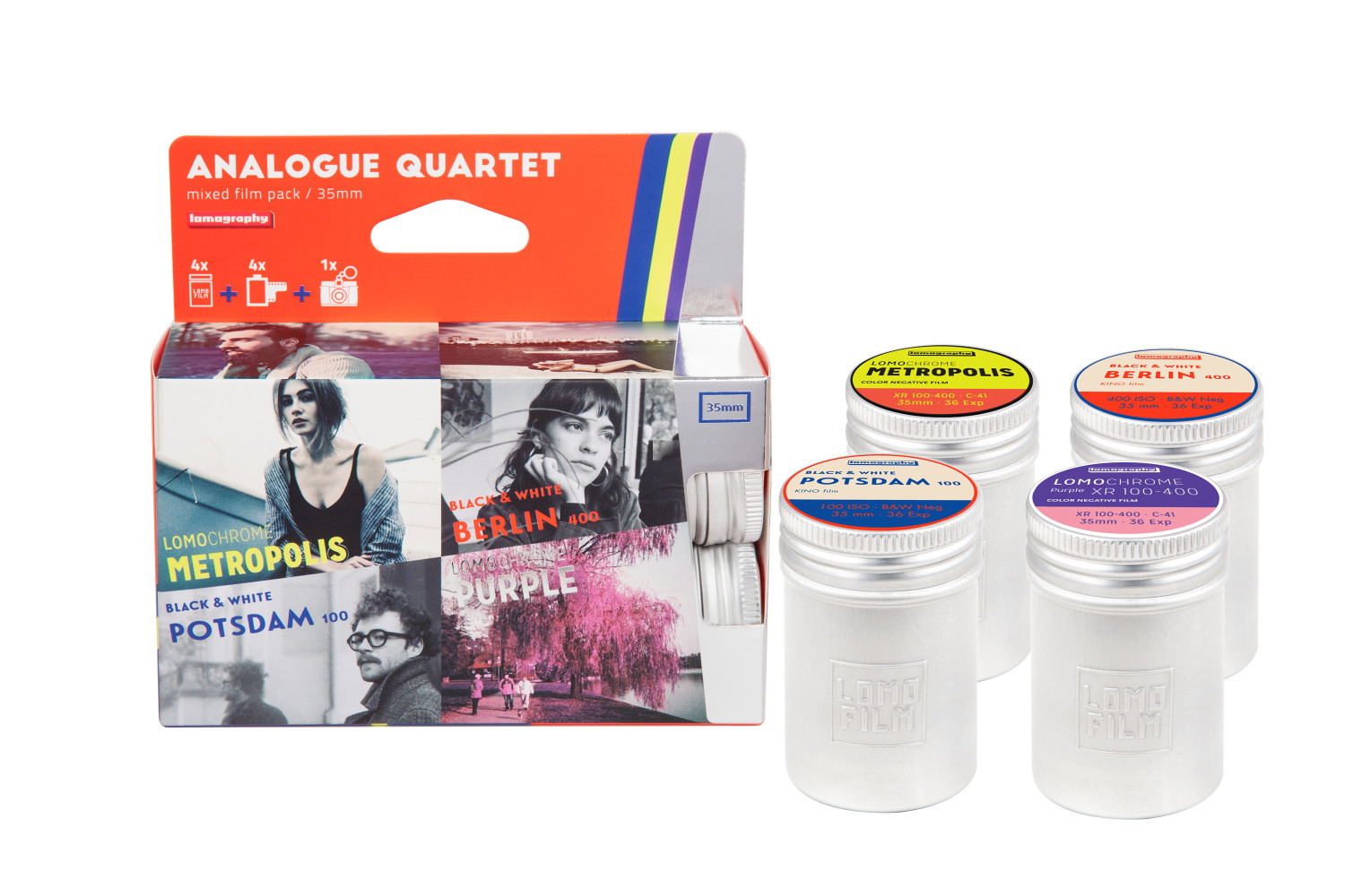 Analogue Quartet (Pic: Lomography)