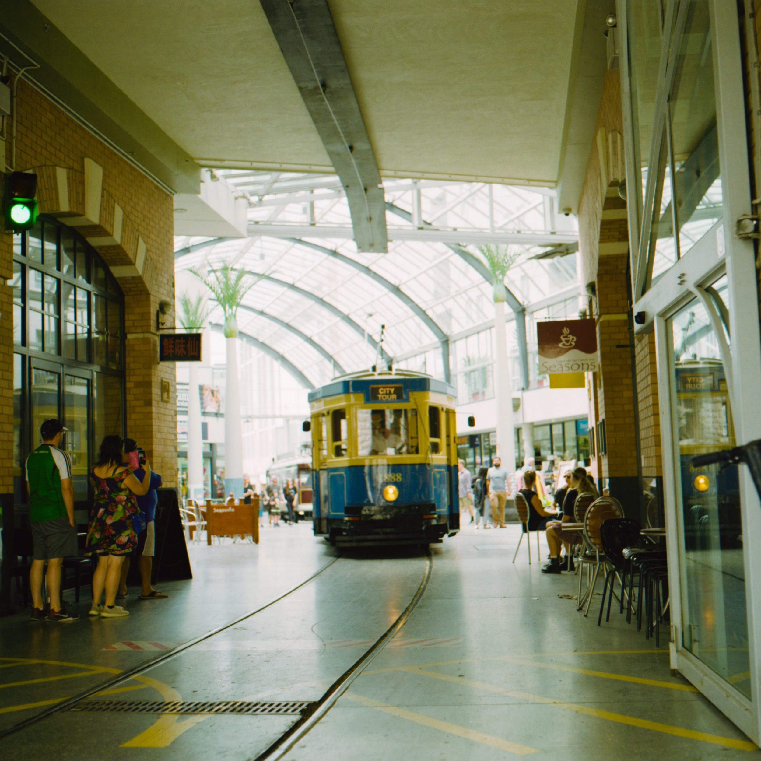 Indoor tram (Pic: Hunter Benbow)