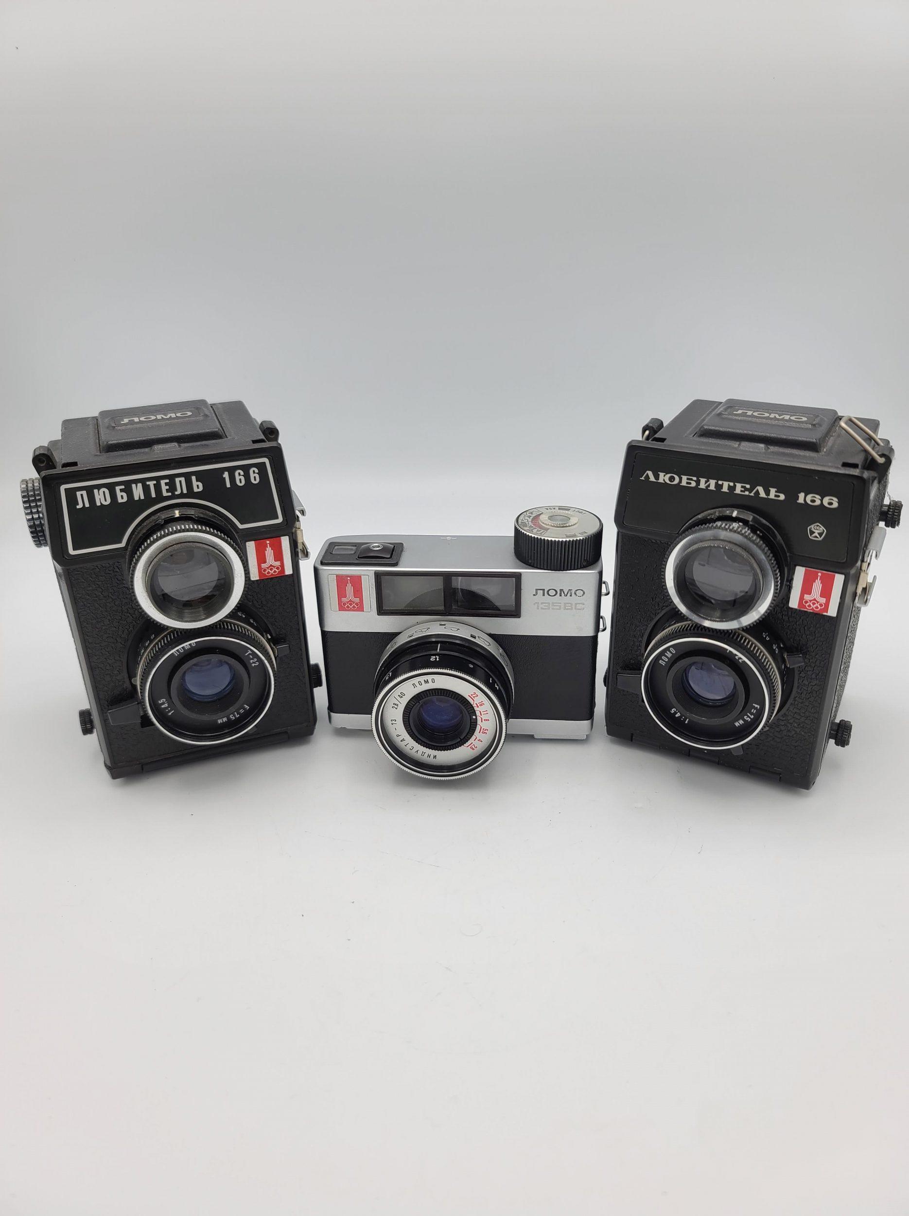 Lomo Olympic cameras (Pic: Vladislav Kern)