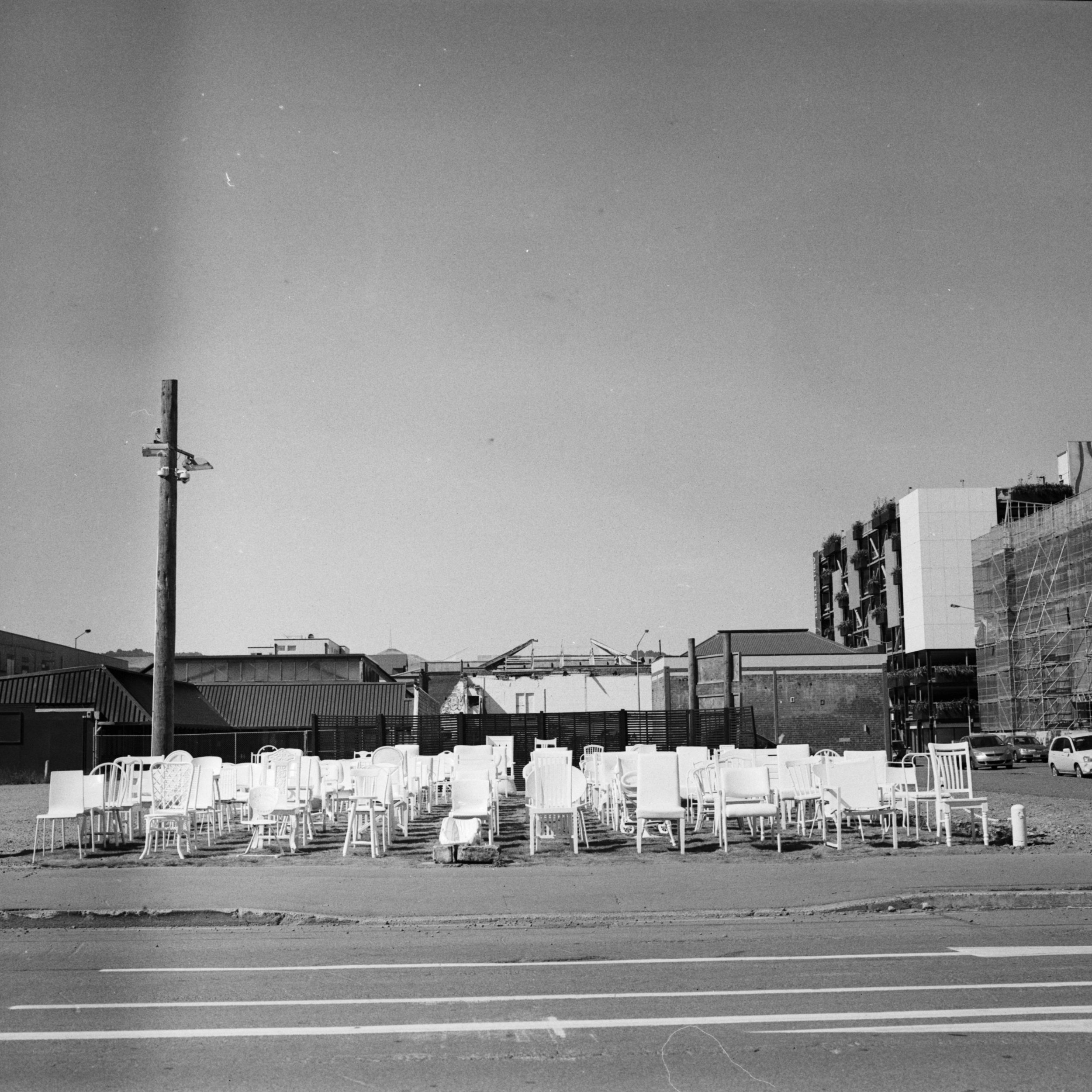 White Chairs memorial (Pic: Hunter Benbow)