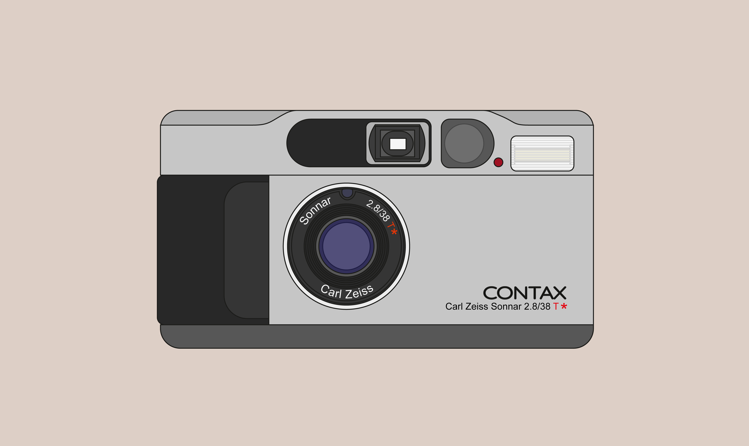 Contax T2 (Graphic: David Ortiz)