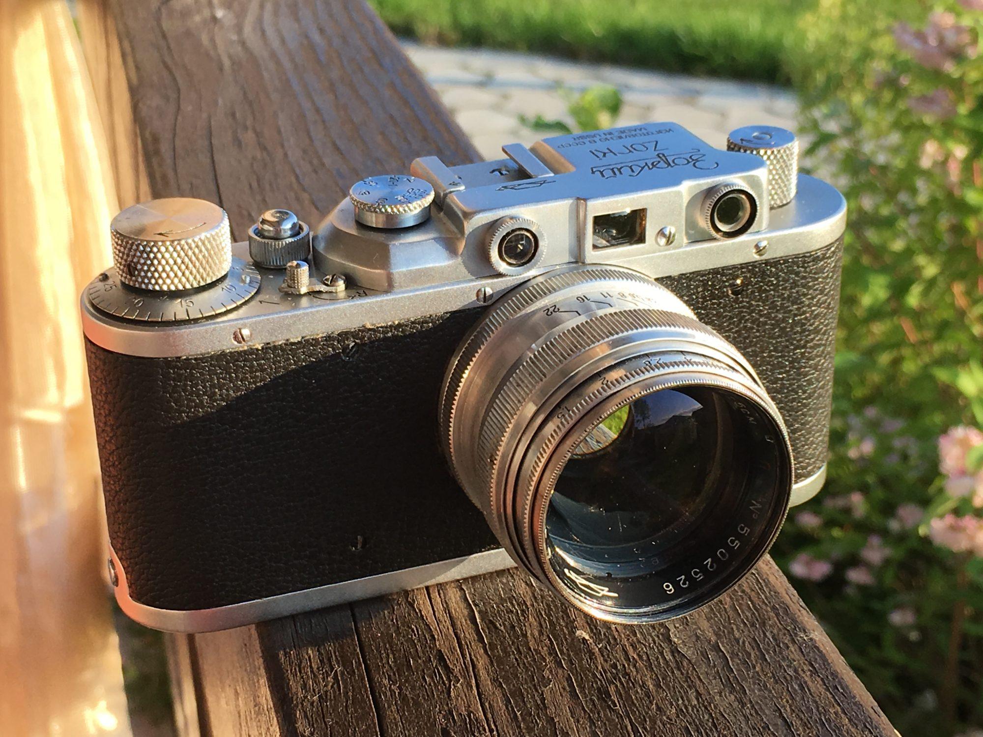 Zorki/Leica hybrid (Pic: Oleg Khalyavin)