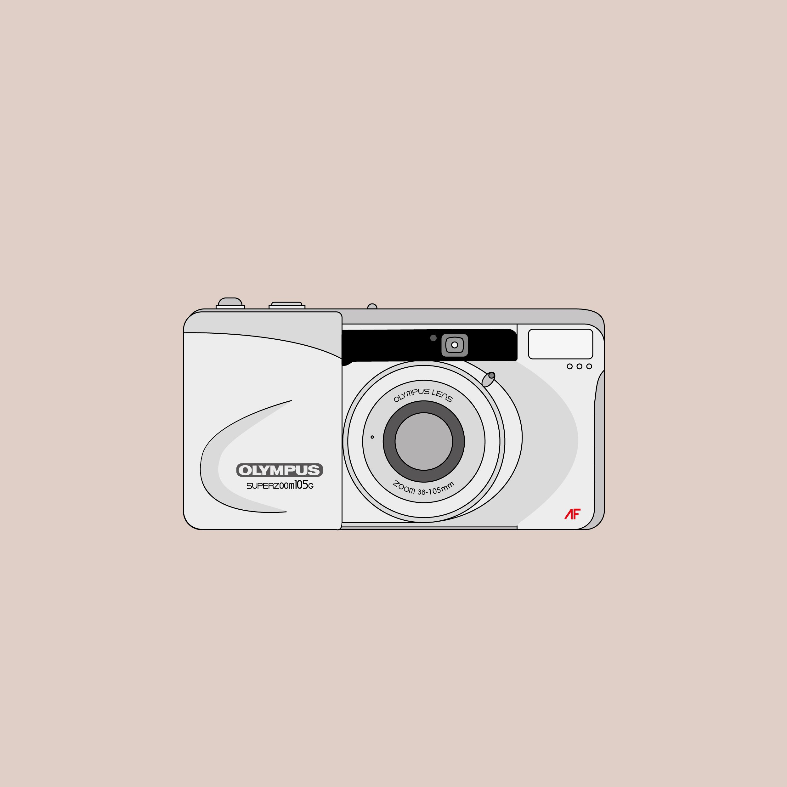 Olympus Superzoom 105G (Graphic: David Ortiz)