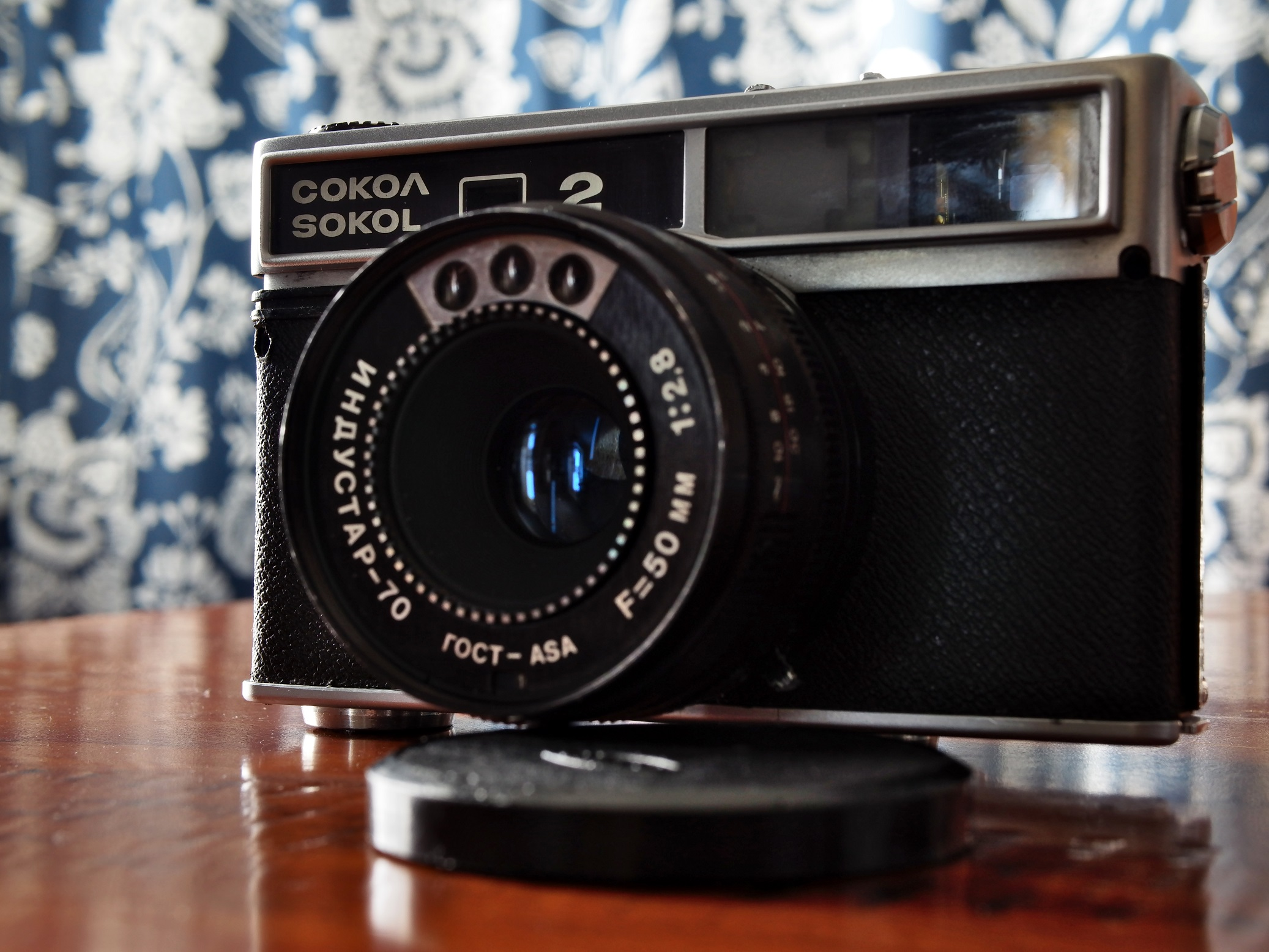 Lomo Sokol-2 camera (Pic: Anthony Fisk)