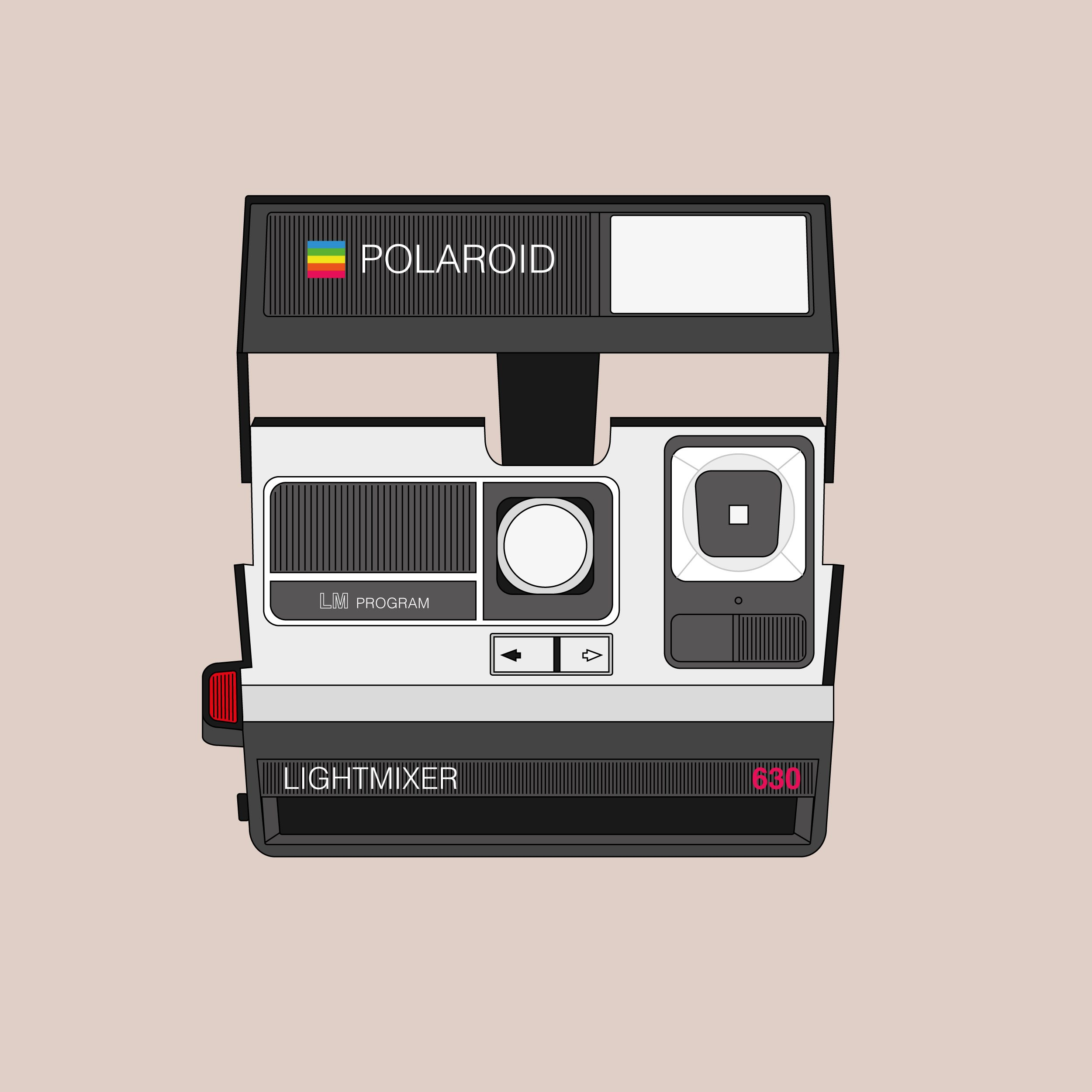 Polaroid 630 (Graphic: David Ortiz)