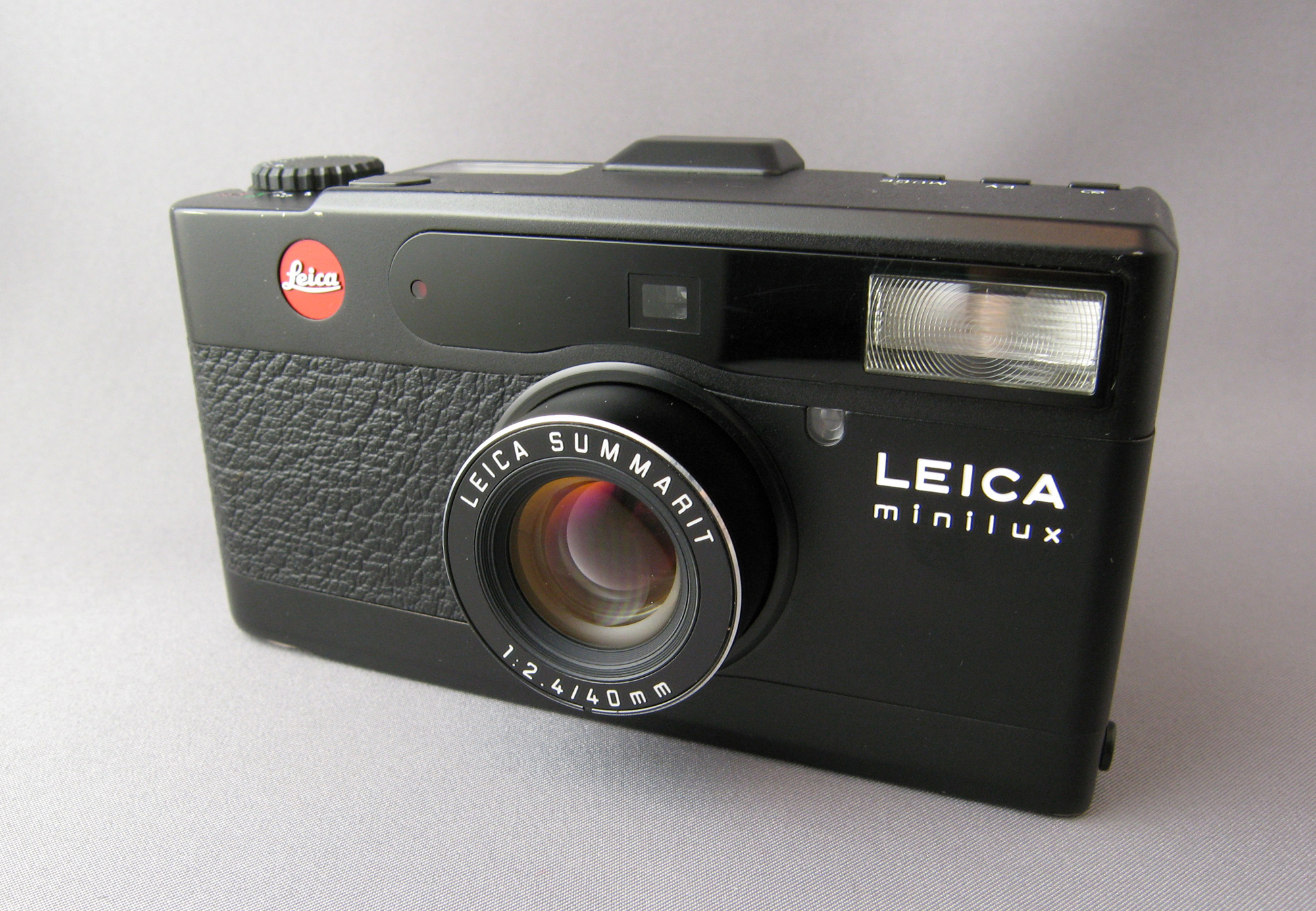 Leica Minilux (Pic: Dddeco/Wikimedia Commons)