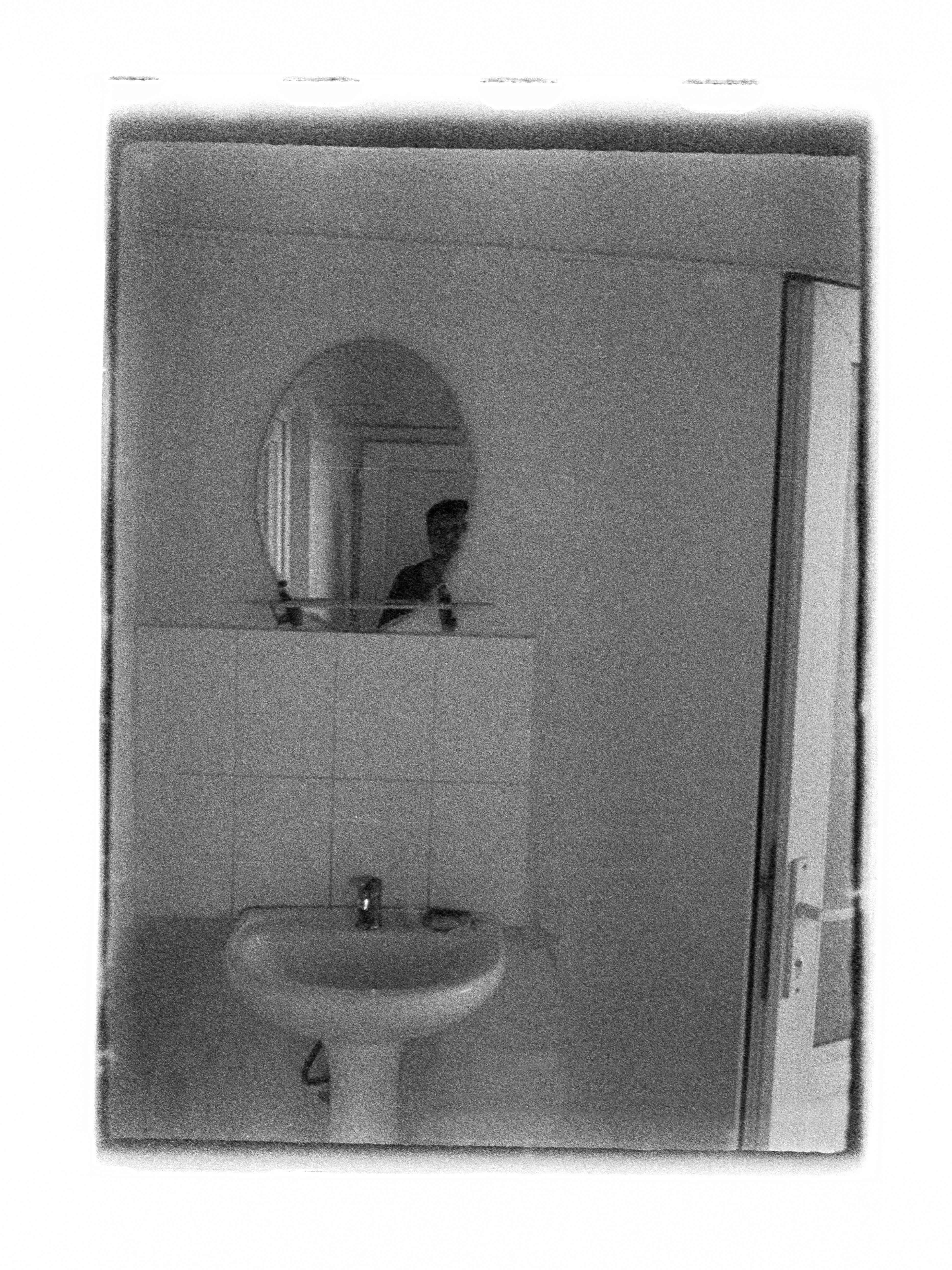 Selfie in bathroom mirror (Pic: Andrey Khludeyev)