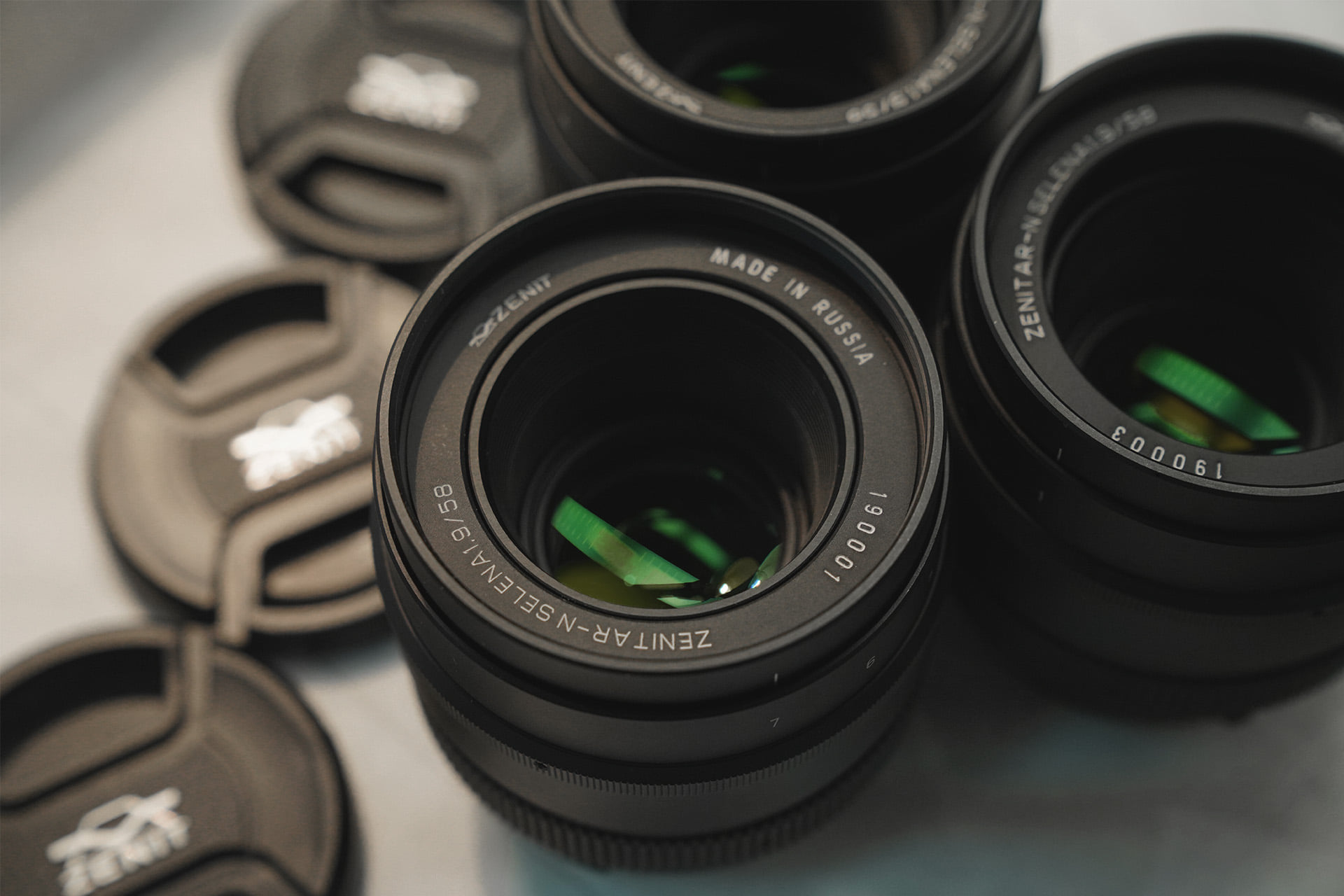 Zenitar-N lenses (Pic: KMZ)