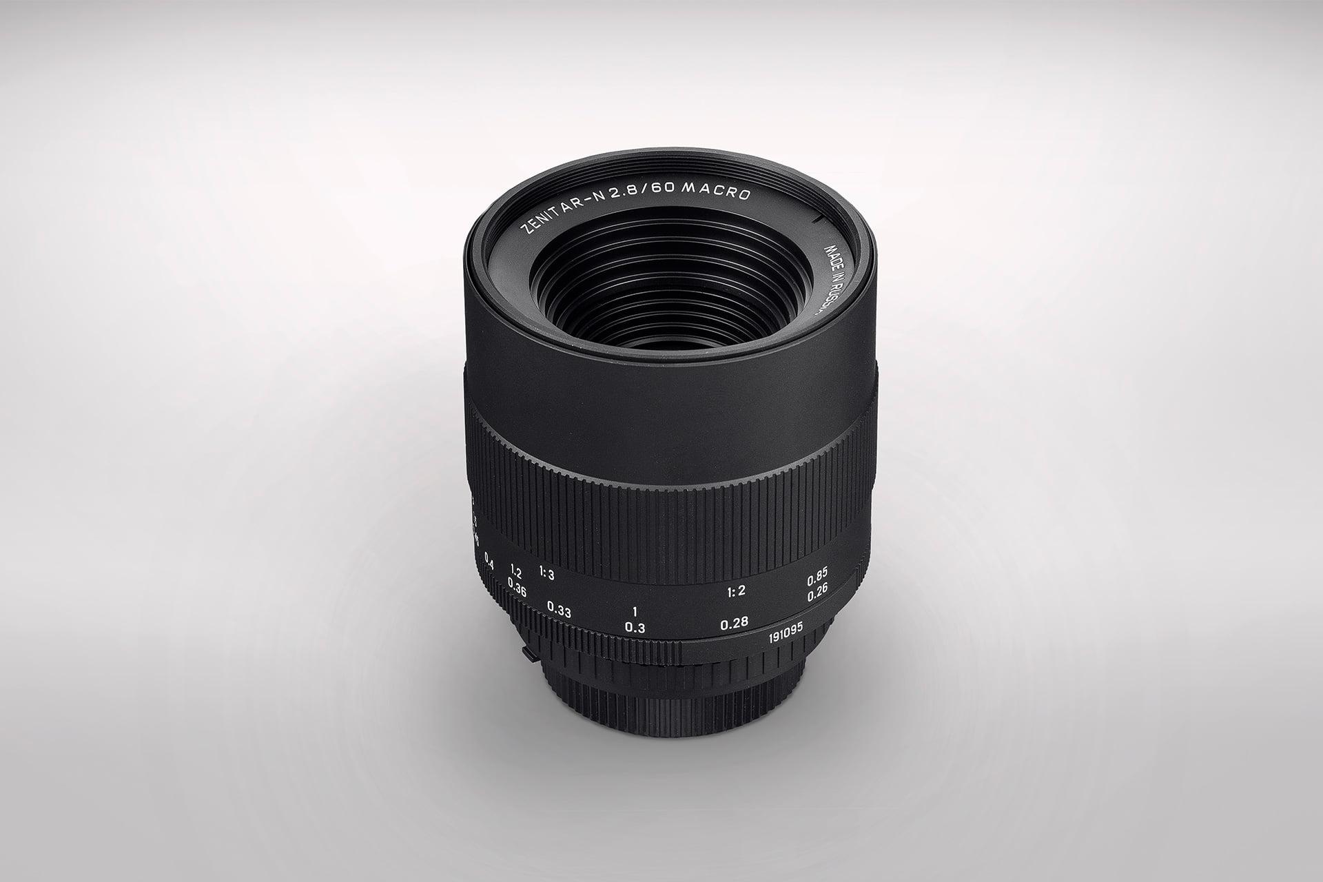 Zenitar-N 60/2.8 macro lens (Pic: KMZ)