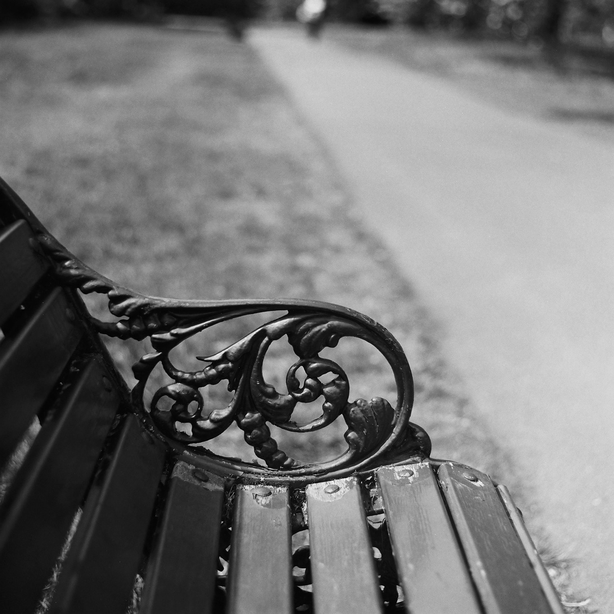 Bench detail (Pic: Stephen Dowling)