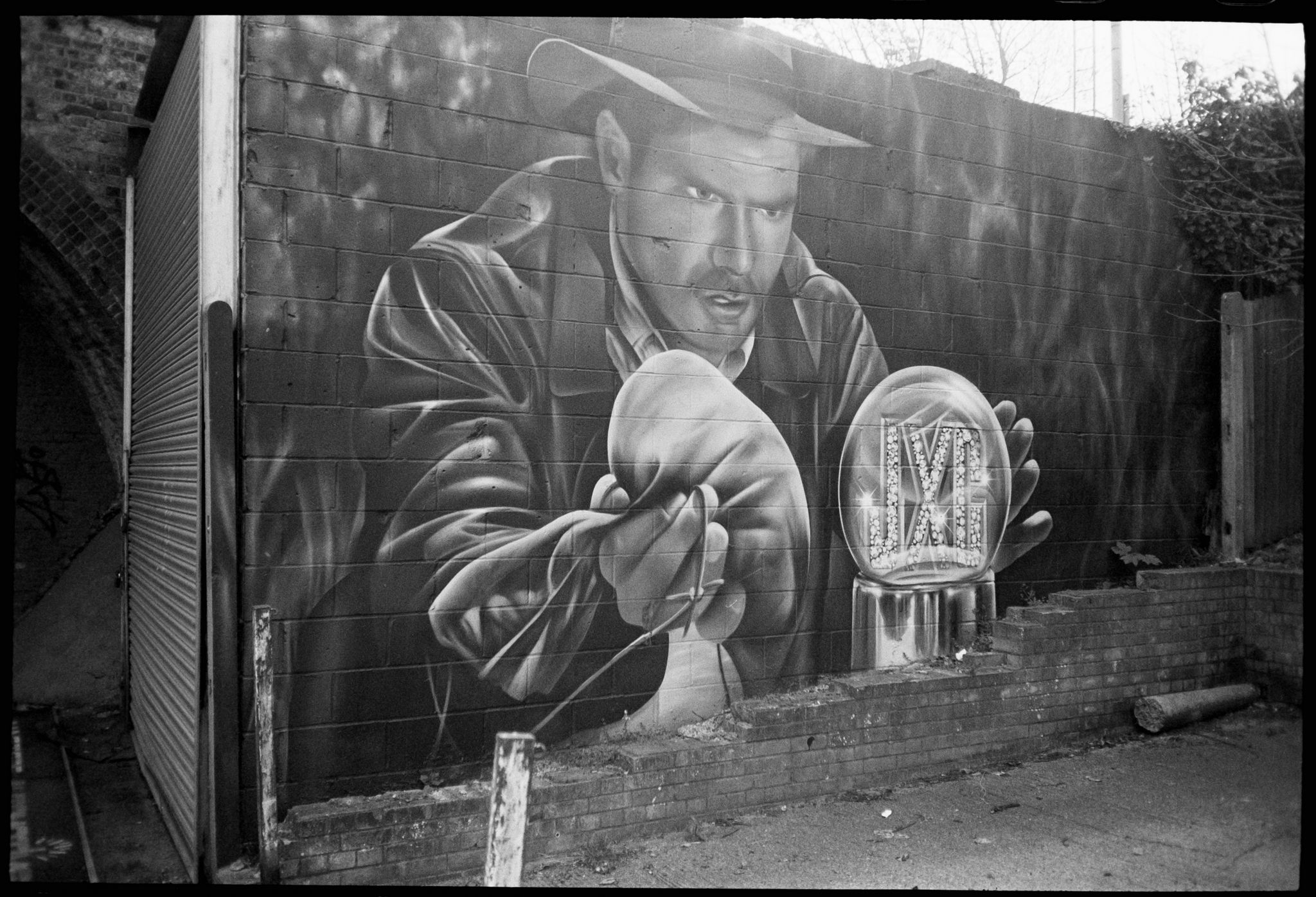 Indiana Jones mural (Pic: Andy Clad)
