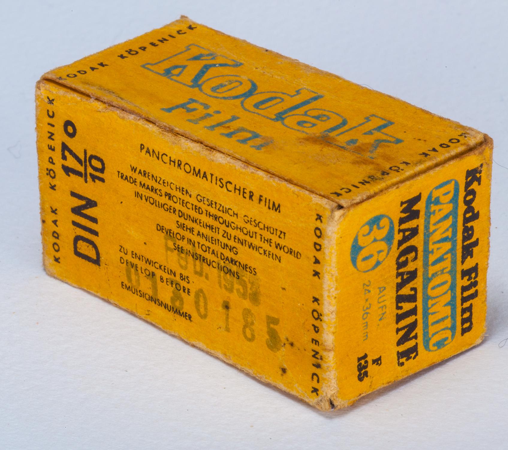 German Kodak film (Pic: Joerg Kowalski)