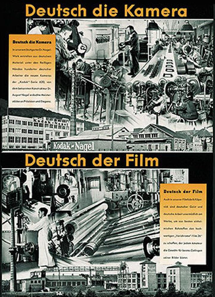 Nazi-era Kodak poster