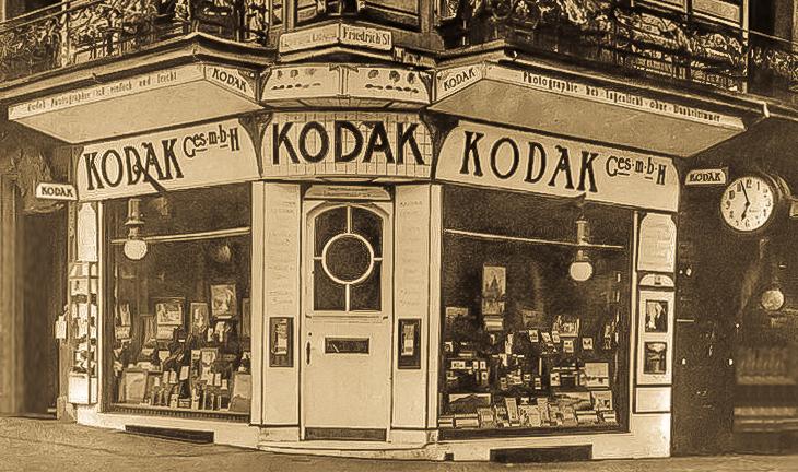 Berlin Kodak shop in 2012 (Pic: Unknown)