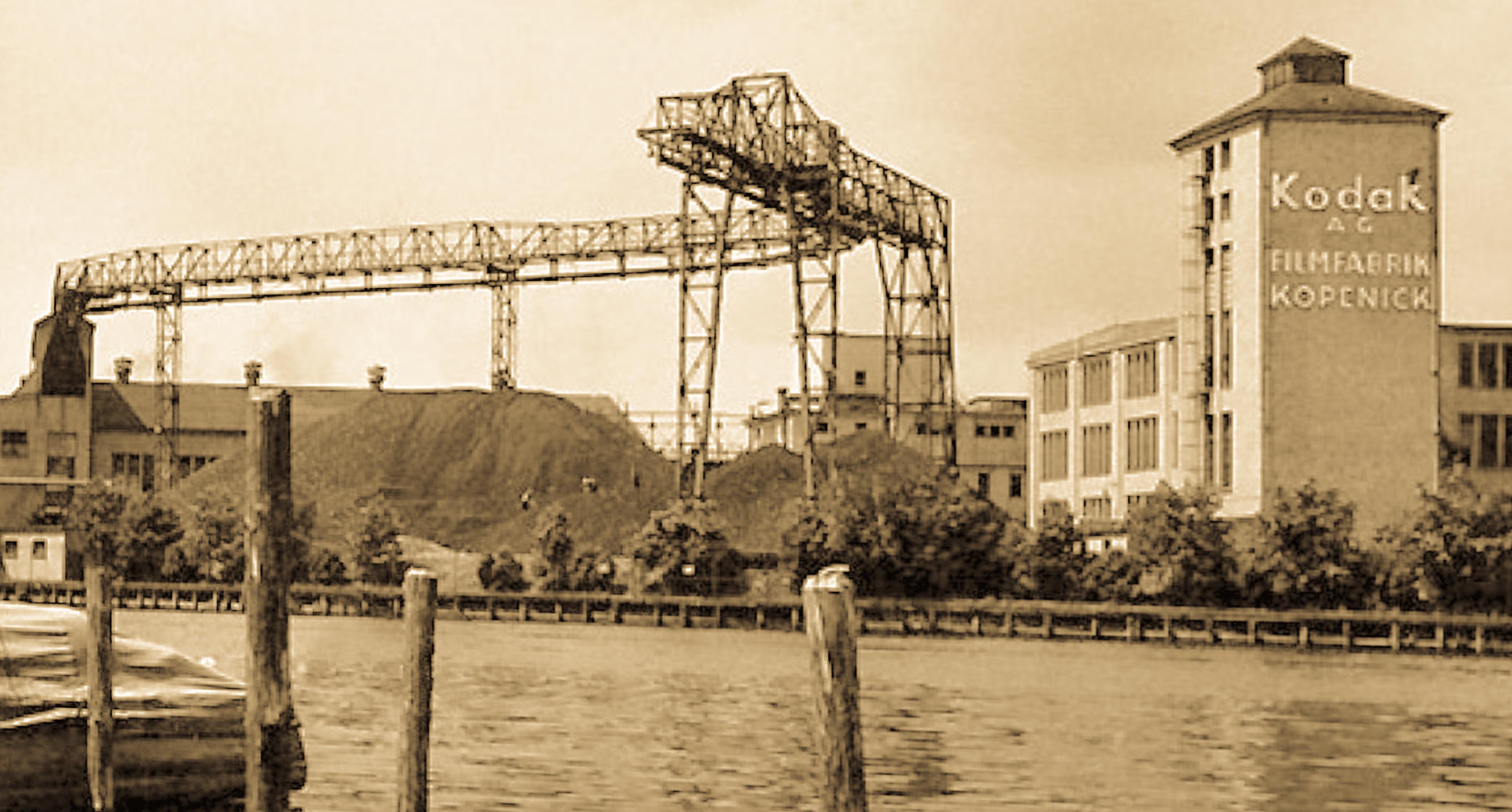 Kodak factory on River Spree (Pic: Unknown)