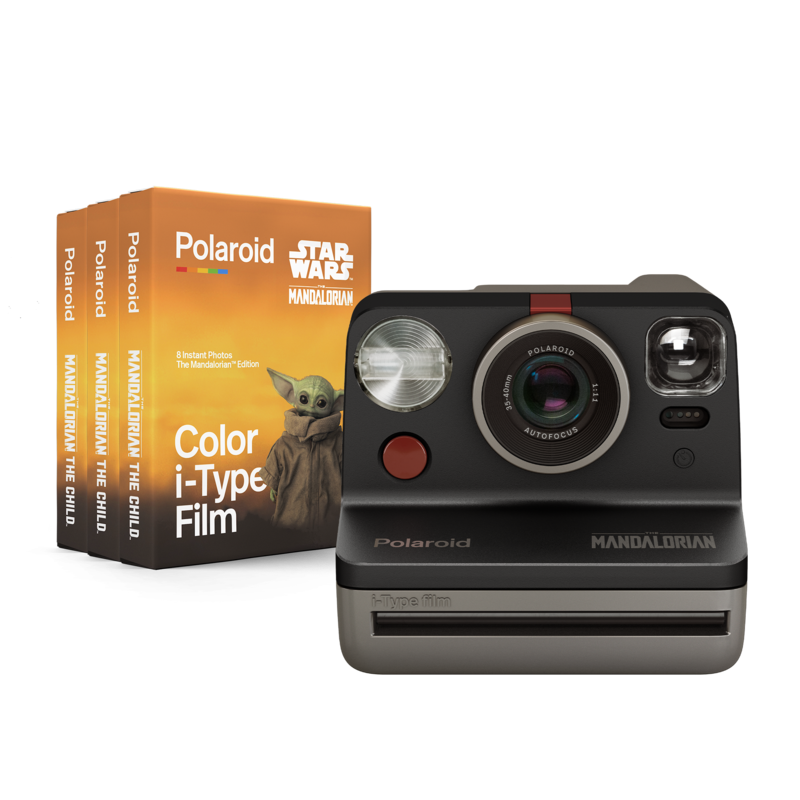 Polaroid Mandalorian camera nd film (Pic: Polaroid)