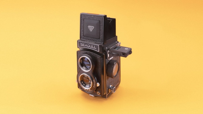 Meter mounted on Seagull TLR (Pic: Lime One/Kickstarter)