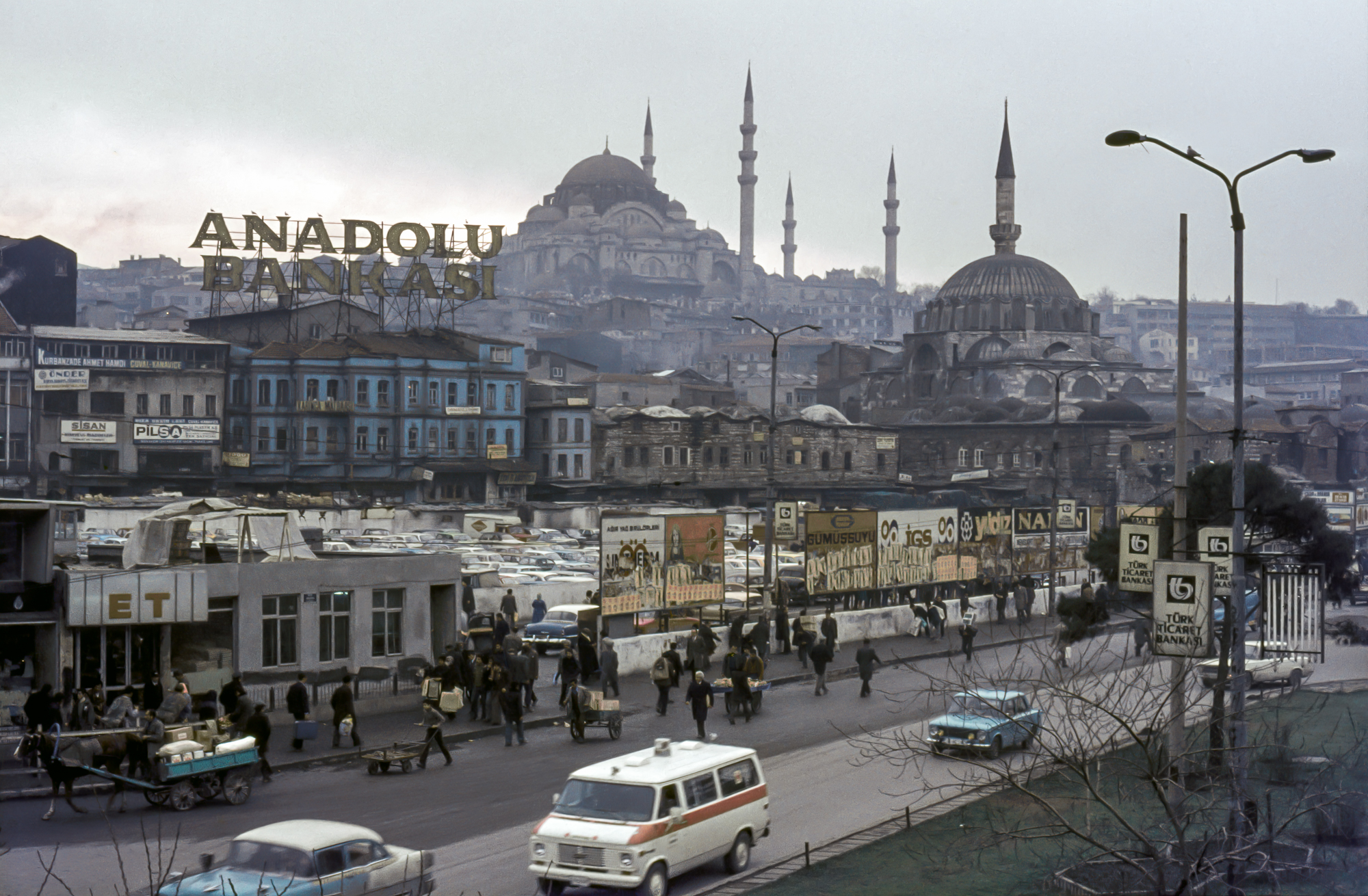 Istanbul skyline (Pic: Mick Yates)