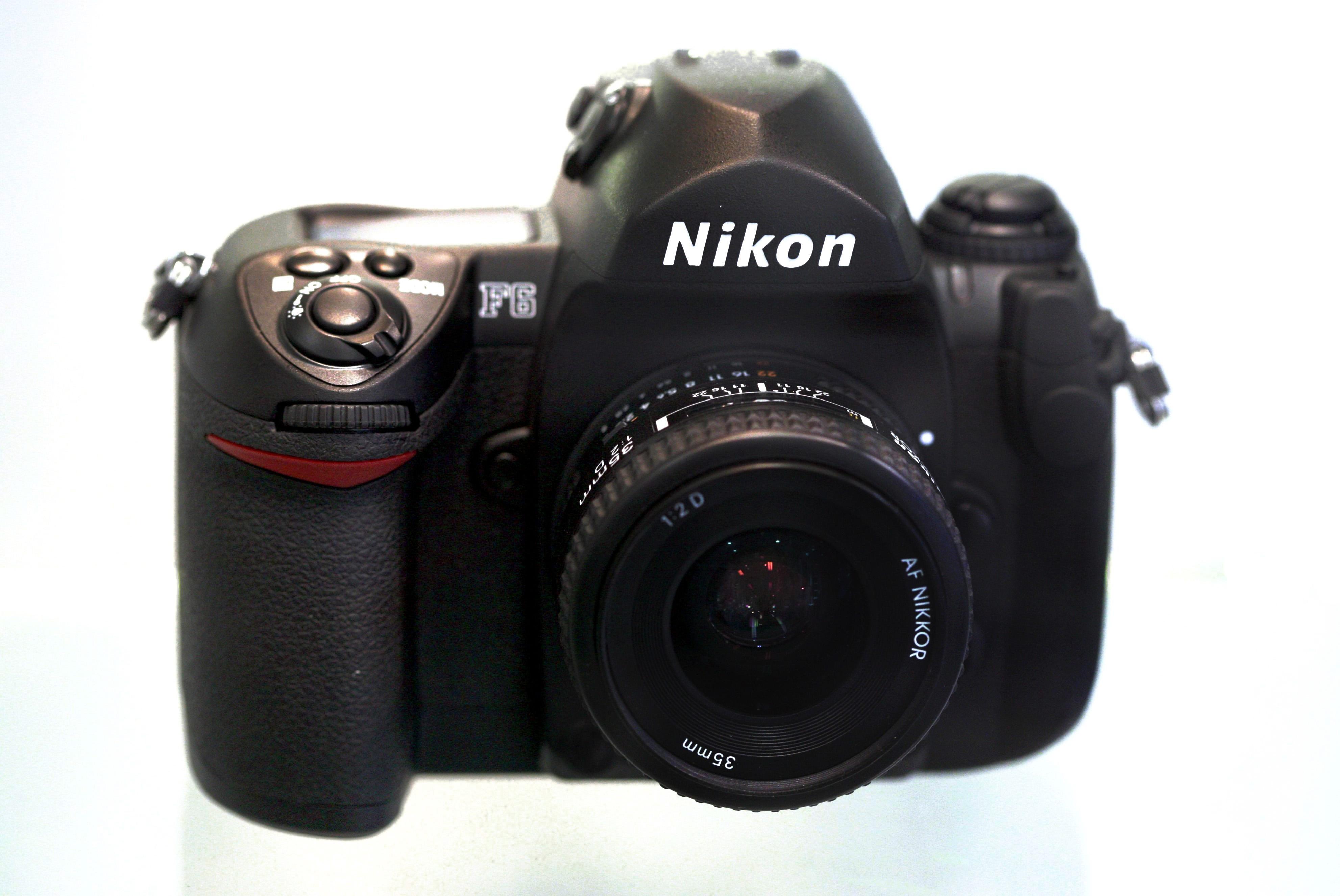 Nikon F6 (Pic: Thegreenj/Wikimedia Commons)