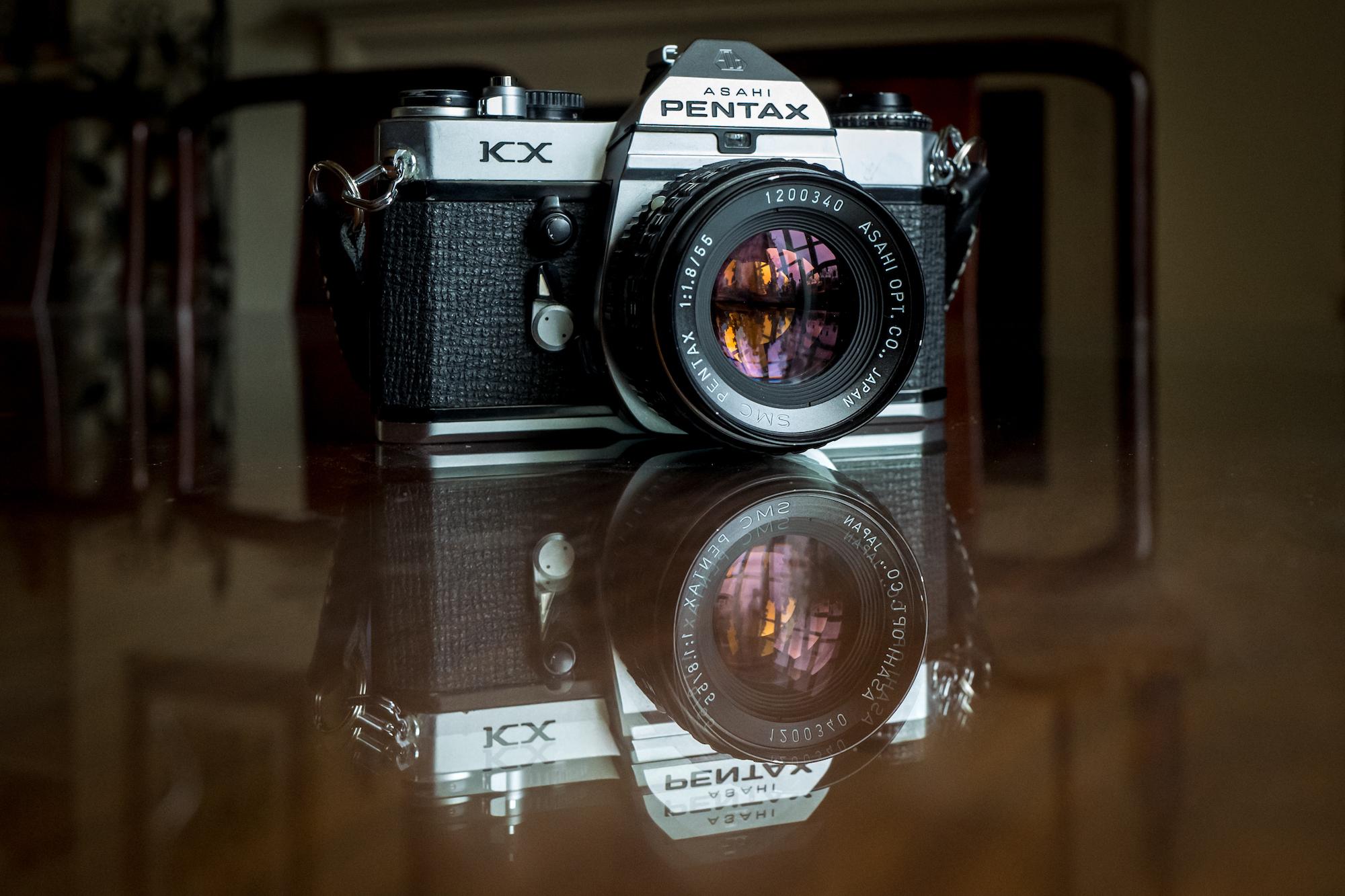 Pentax KX (Pic: Mick Yates)
