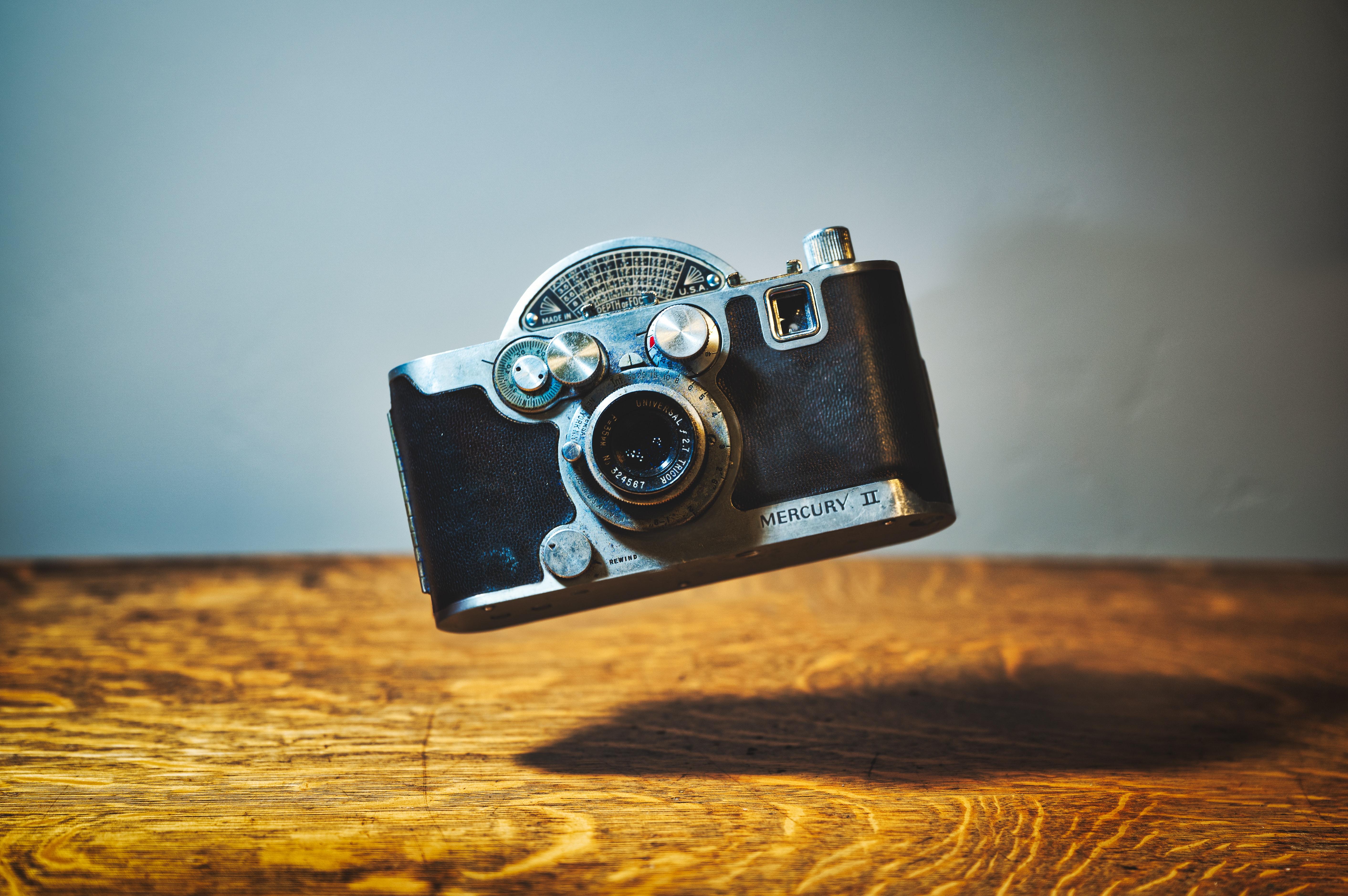 Mercury II camera (Pic: Brett Sayles)