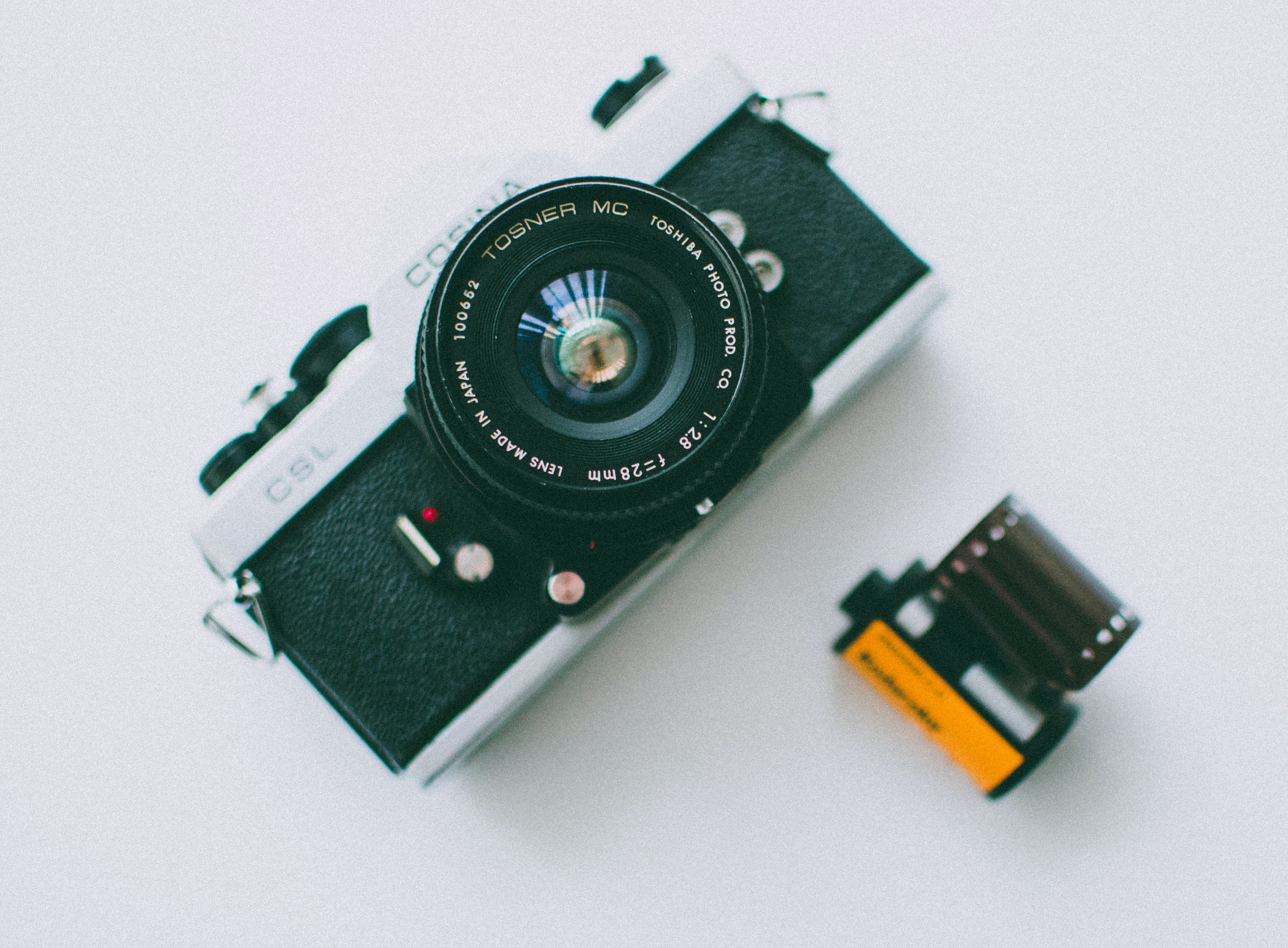 Cosina camera and film (Pic: Lisa Fotios/Pexels)