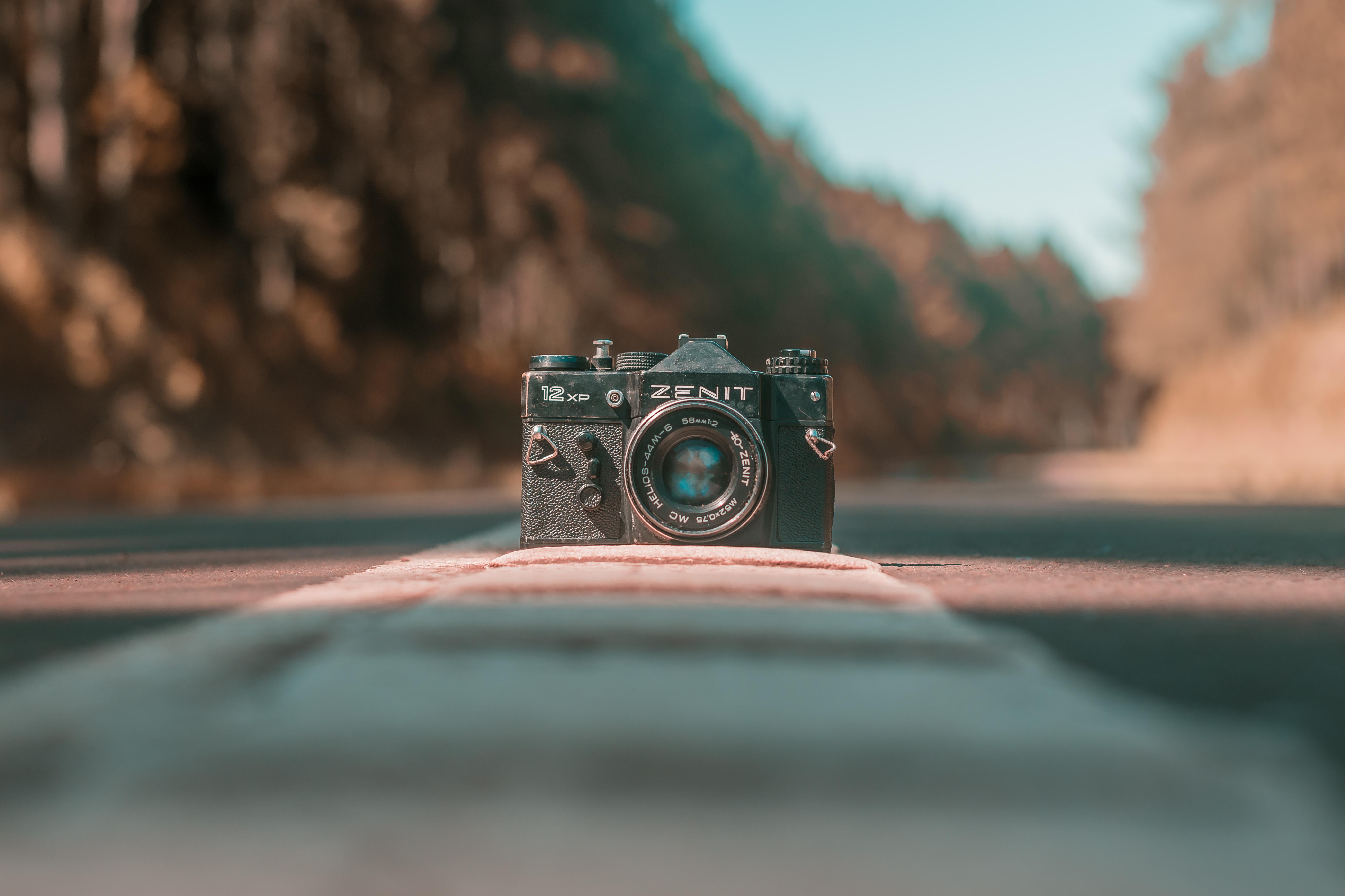 Zenit camera on road (Pic: Rogelio Rosa/Pexels)