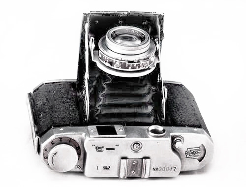 Qiyi folding camera (Pic courtesy 'Chinese Industrial Design 1949-1979')