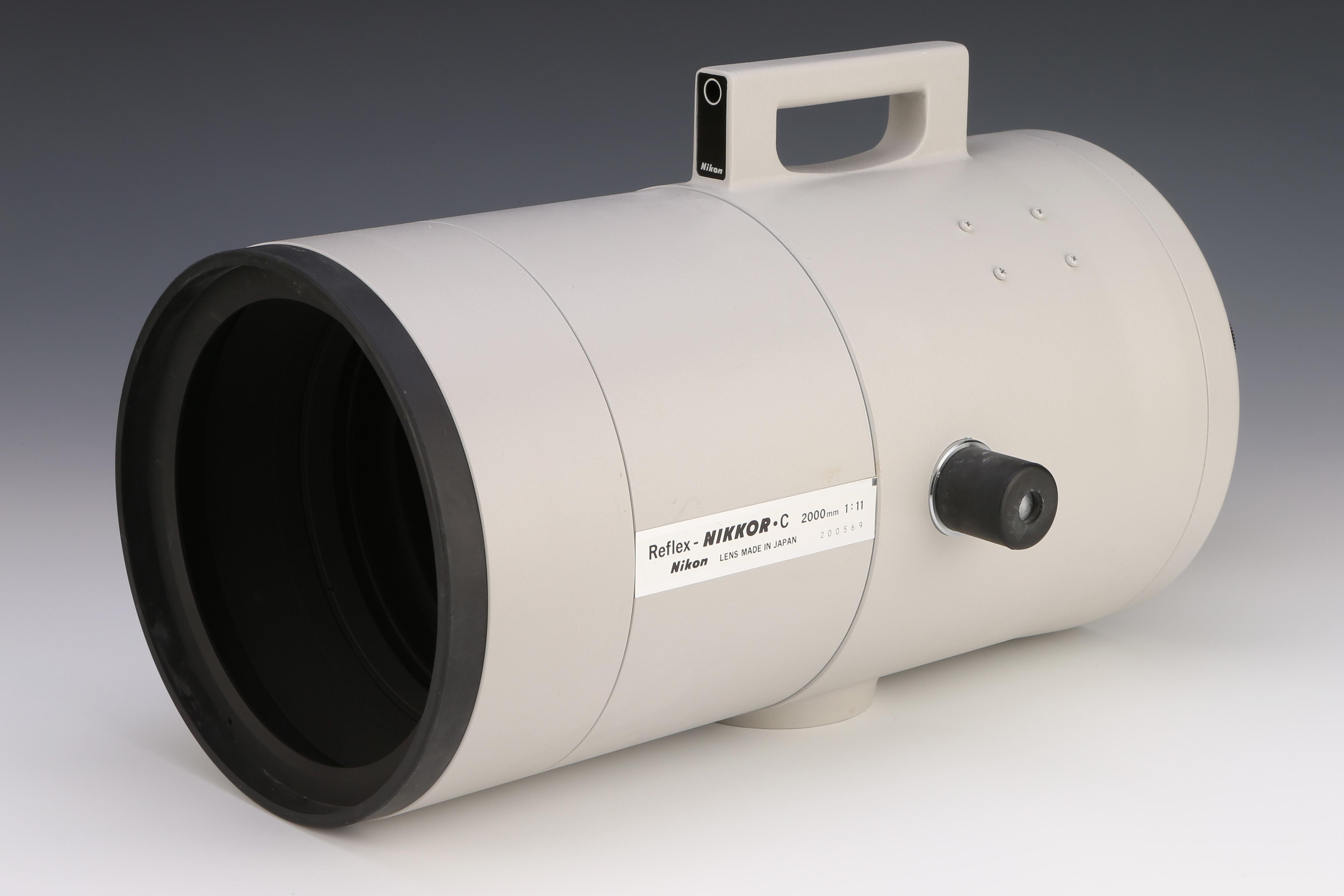 Reflex-Nikkor 2000mm f11 lens (Pic: Flints Auctions)