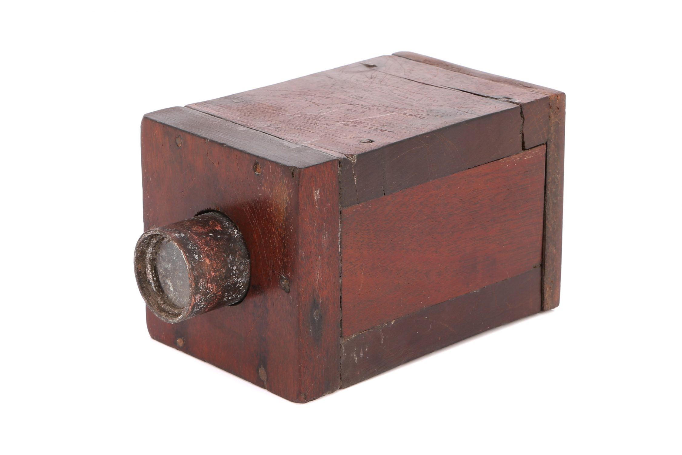 Experimental 'mousetrap' camera (Pic: Flint's Auctions)