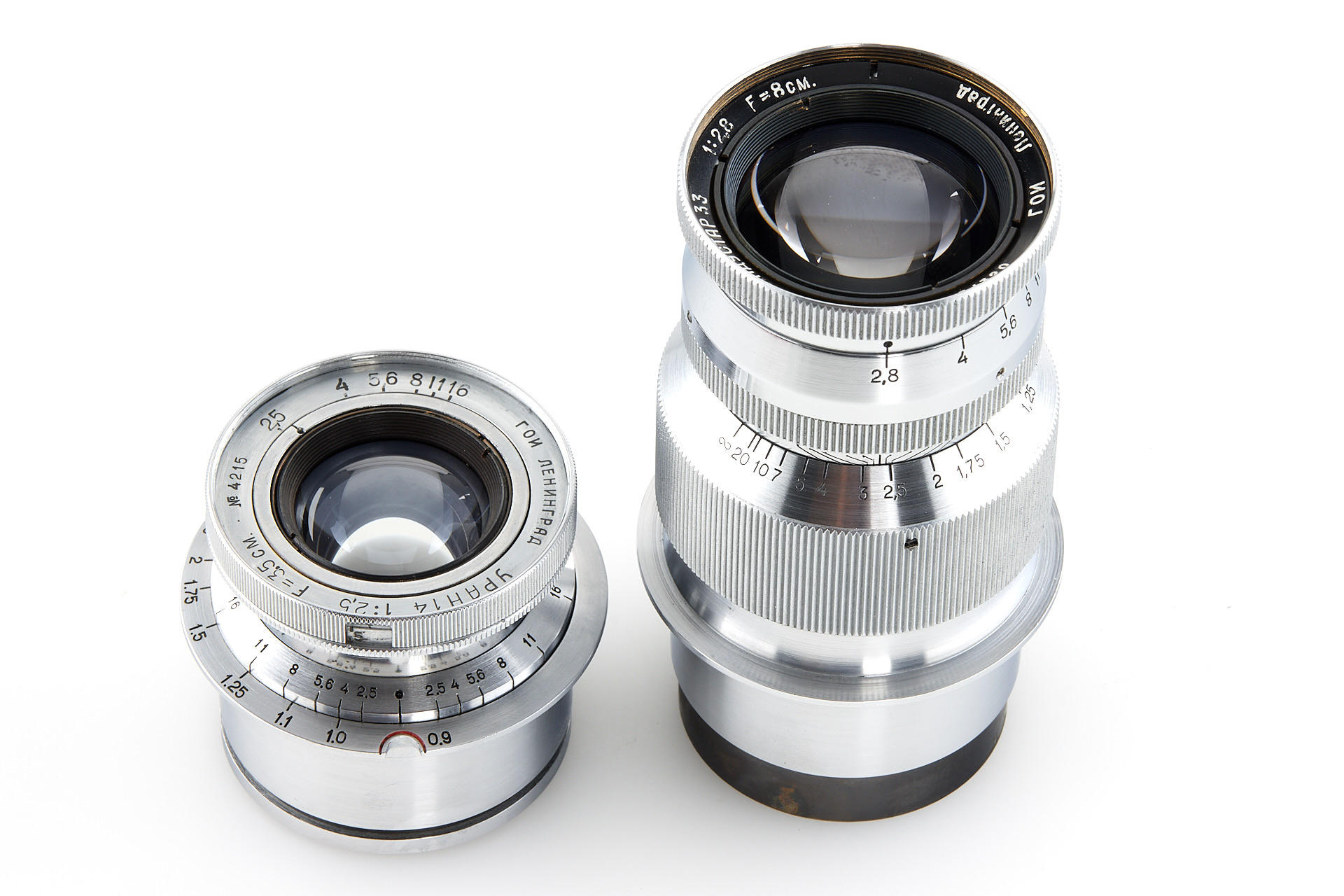 Close-up of lenses (Pic: Leitz Photographica Auction)