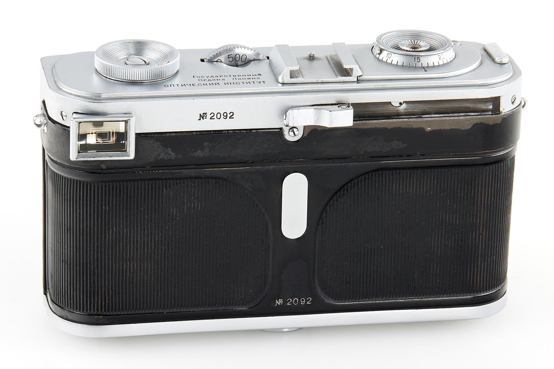 Rear of prototype camera (Pic: Leitz Photographica Auction)