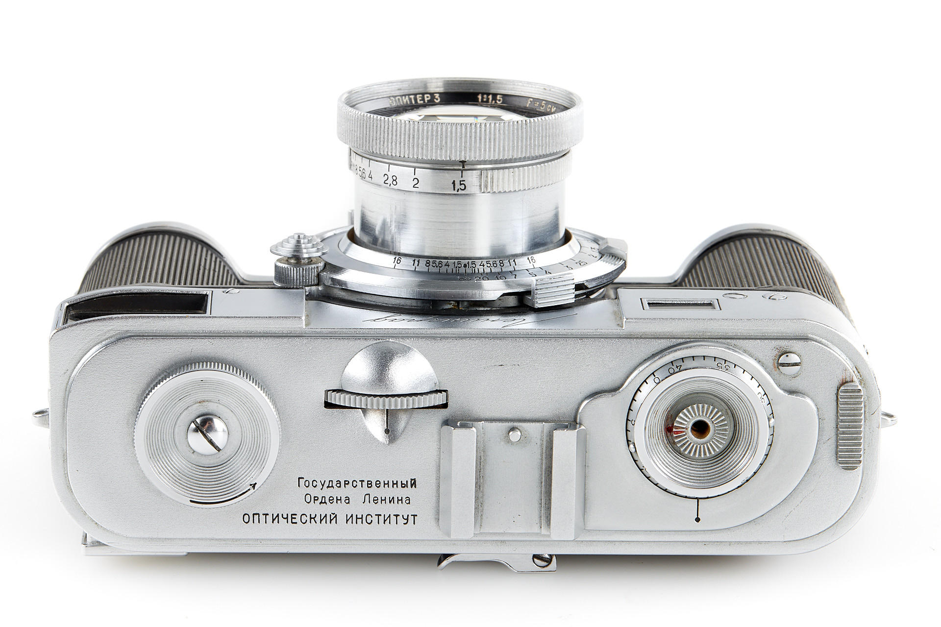 Top view of camera (Pic: Leitz Photographica Auction)
